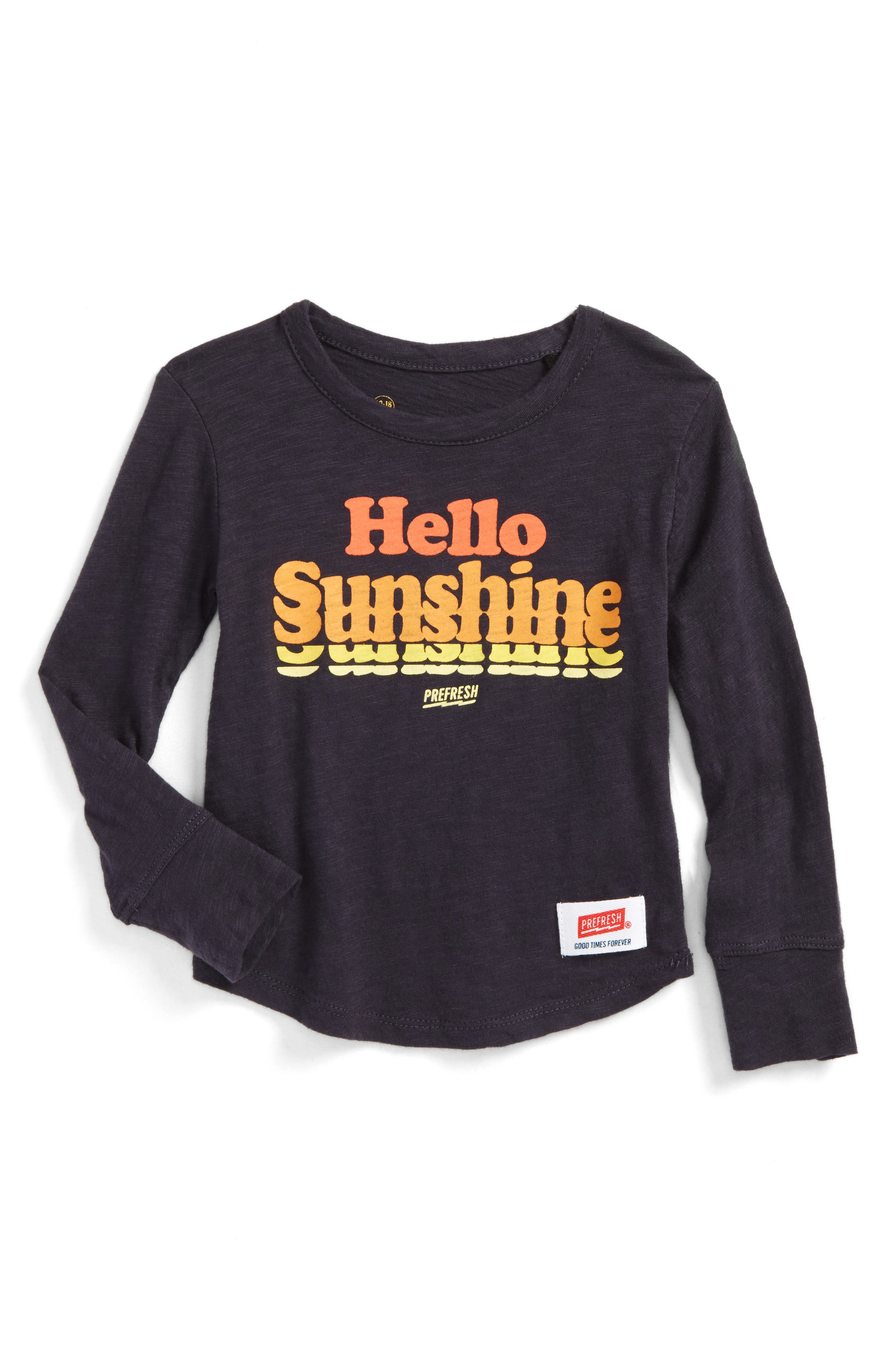 Alternate Image 1 Selected - Prefresh Hello Sunshine Graphic T-Shirt (Baby Boys)