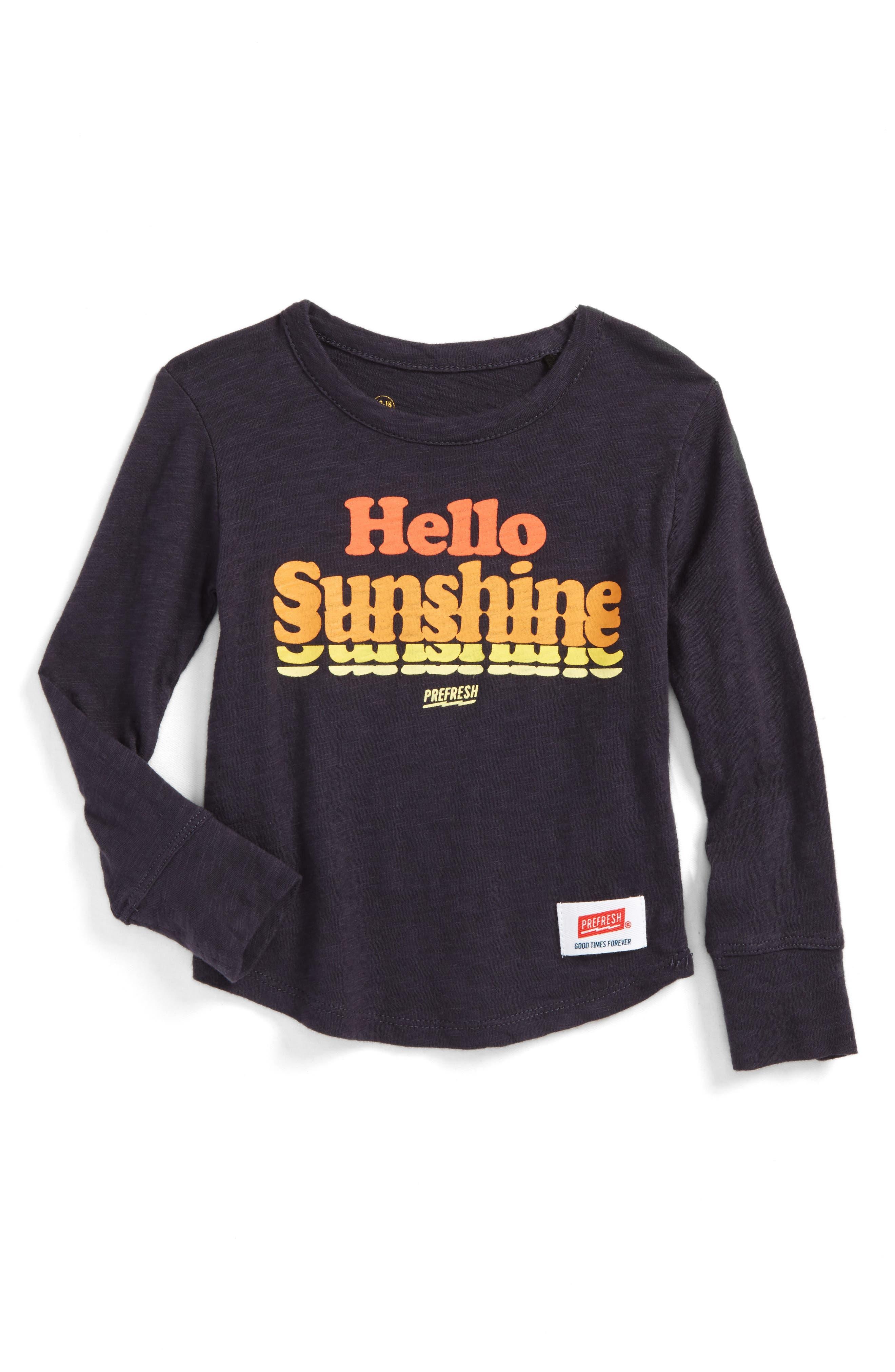 Main Image - Prefresh Hello Sunshine Graphic T-Shirt (Baby Boys)