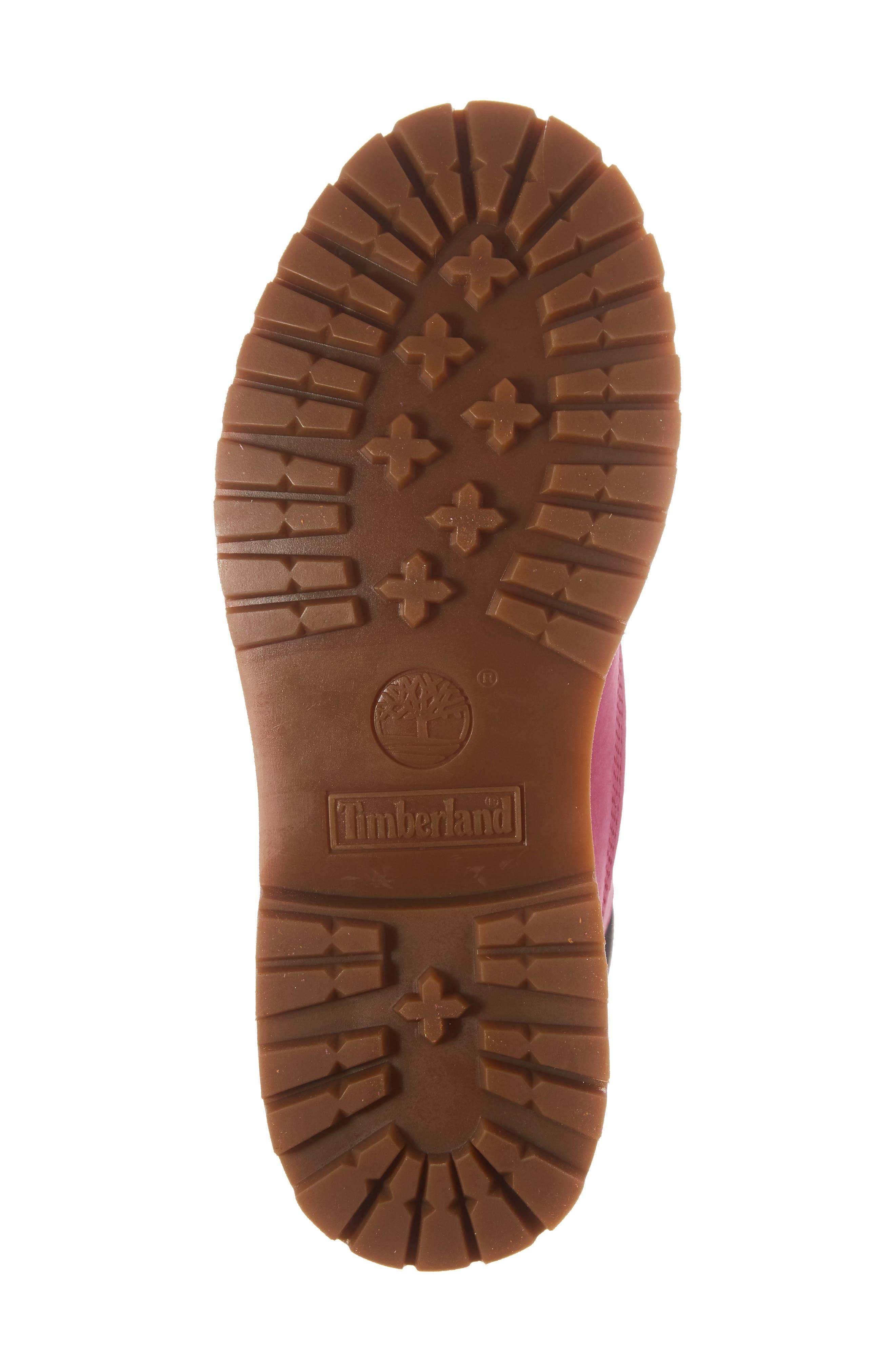 x Susan G. Komen 6-Inch Waterproof Insulated Boot,                             Alternate thumbnail 6, color,                             Bright Pink Nubuck
