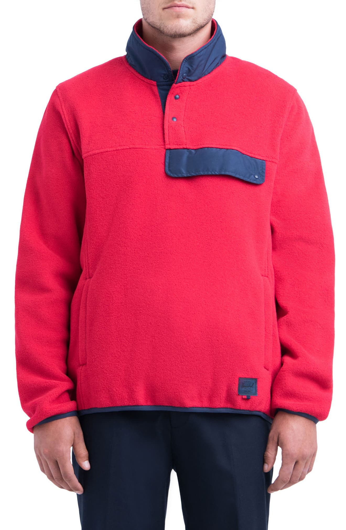 Herschel Supply Co. Fleece Pullover