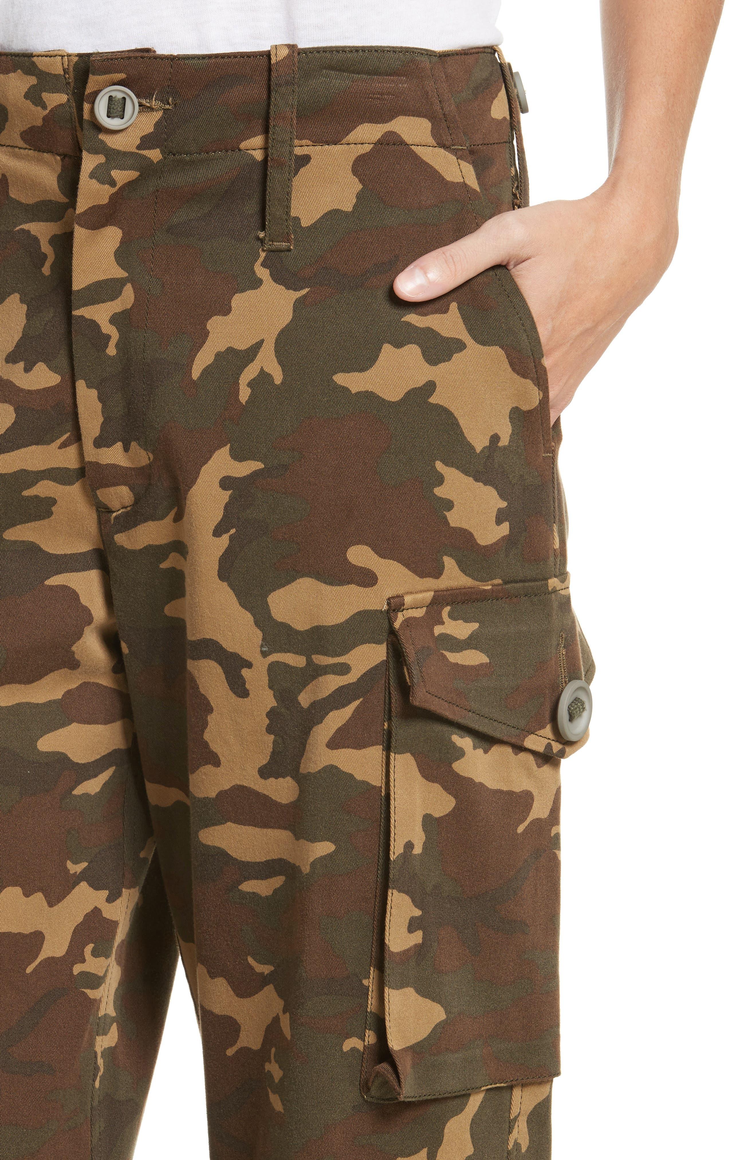 Alternate Image 4  - Proenza Schouler PSWL Camouflage Stretch Cotton Pants