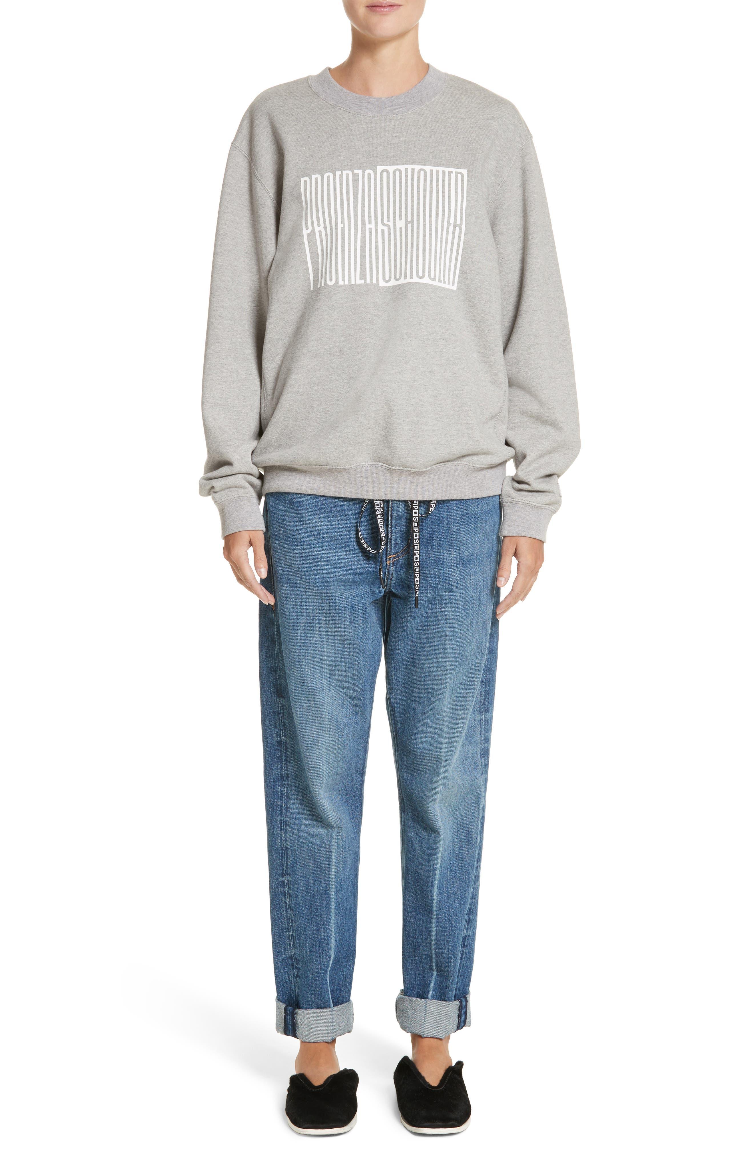 PSWL Cuffed Straight Leg Jeans,                             Alternate thumbnail 11, color,                             Medium Blue