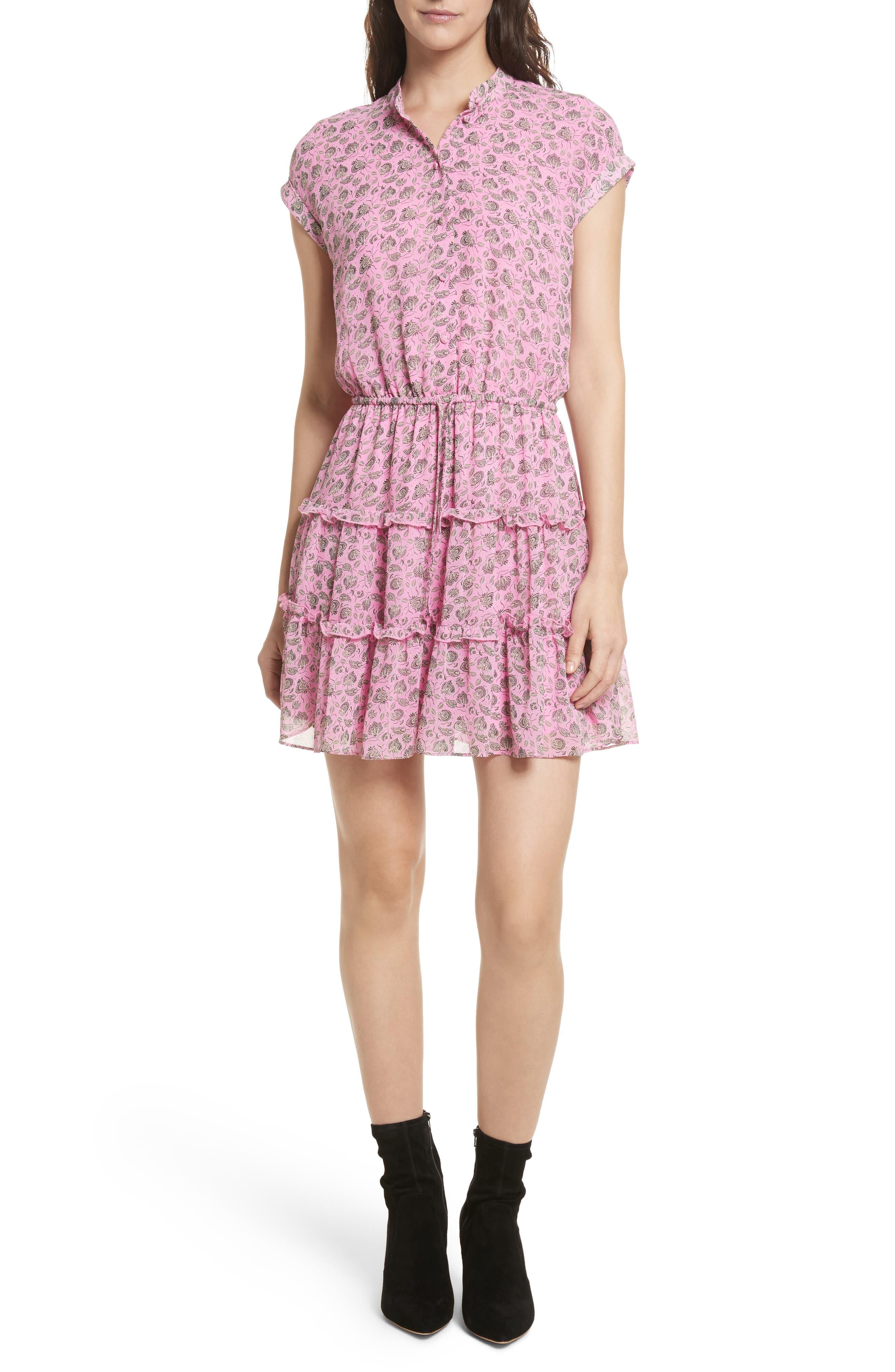 Ollie Dress,                         Main,                         color, Fuchsia Multi