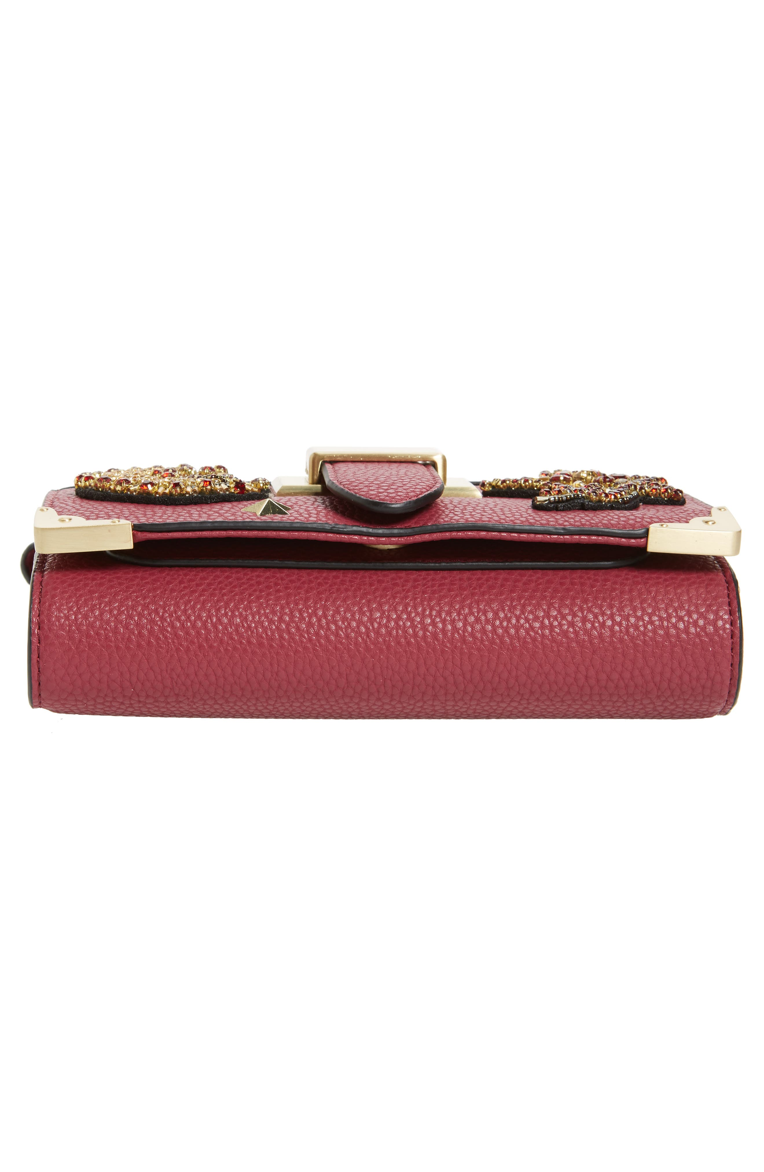 Alternate Image 4  - Sam Edelman Florence Faux Leather Clutch Wallet