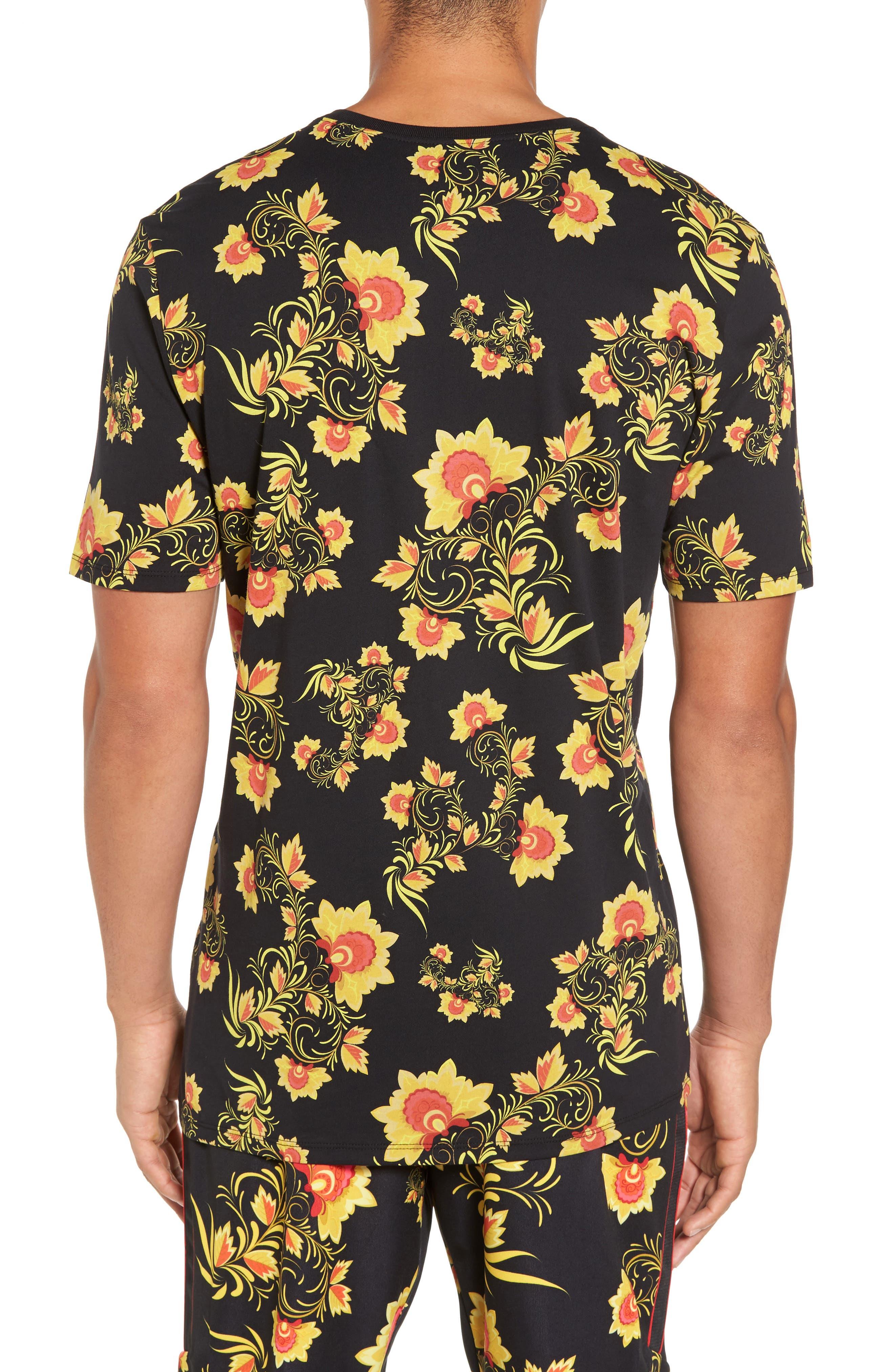 NSW Concept T-Shirt,                             Alternate thumbnail 2, color,                             Black/ Tour Yellow
