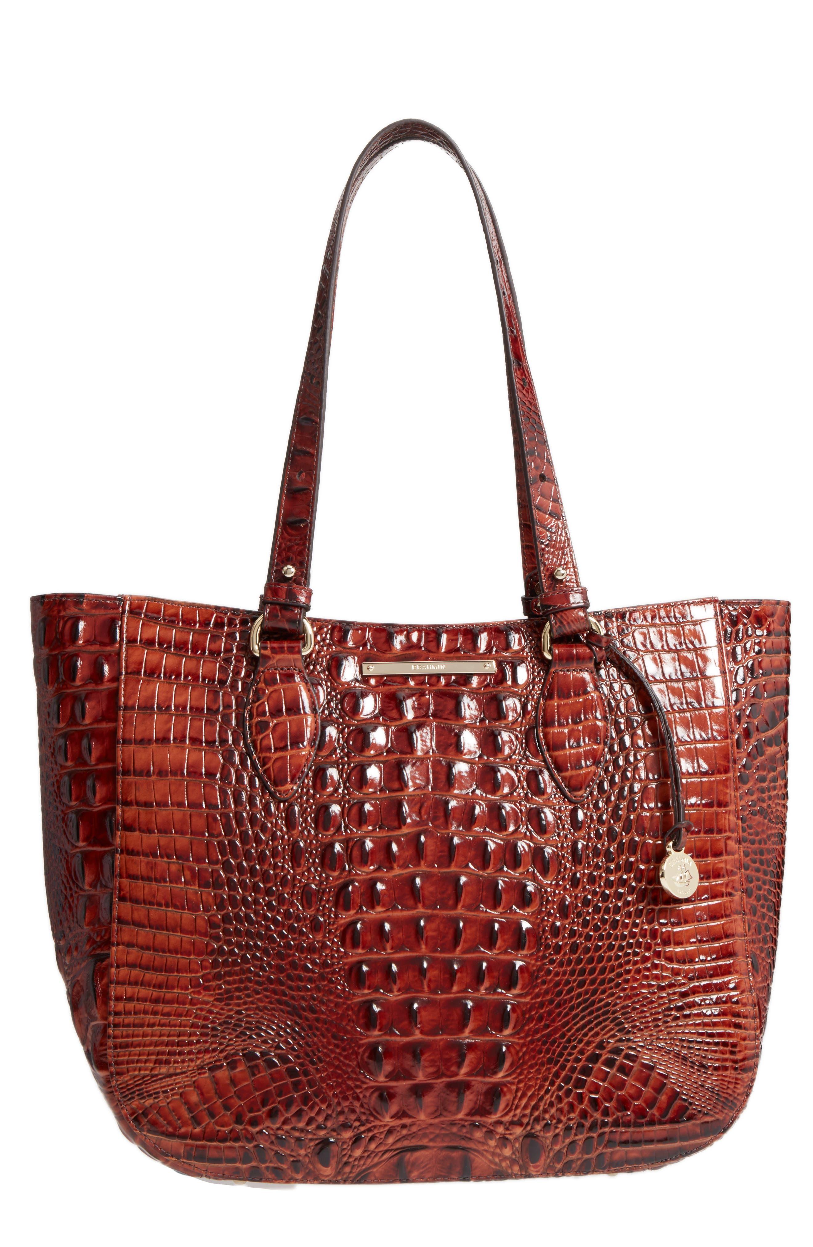 Brahmin Melbourne - Medium Lena Leather Tote