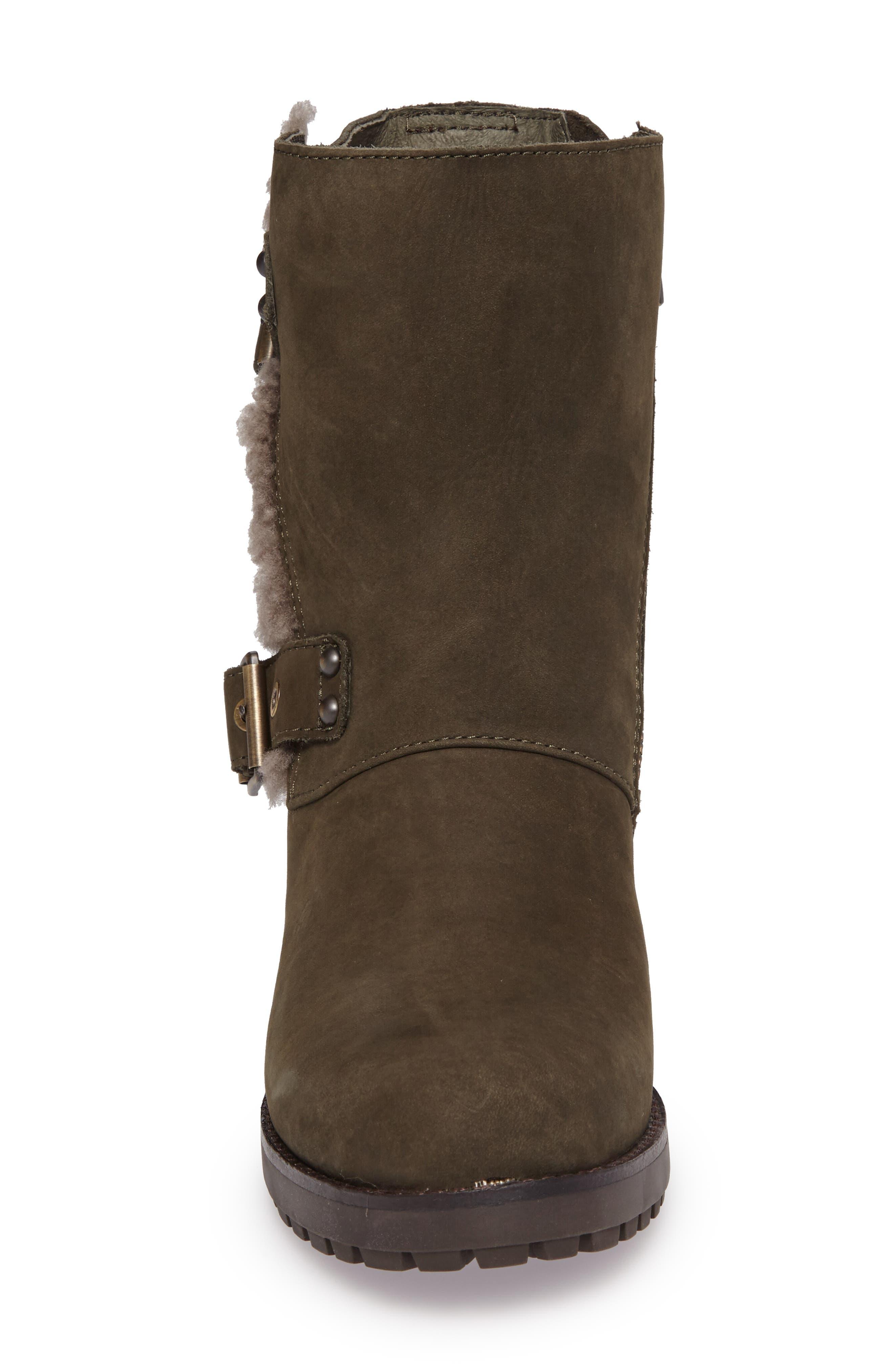 Alternate Image 4  - UGG® Niels Water Resistant Genuine Shearling Boot (Women)