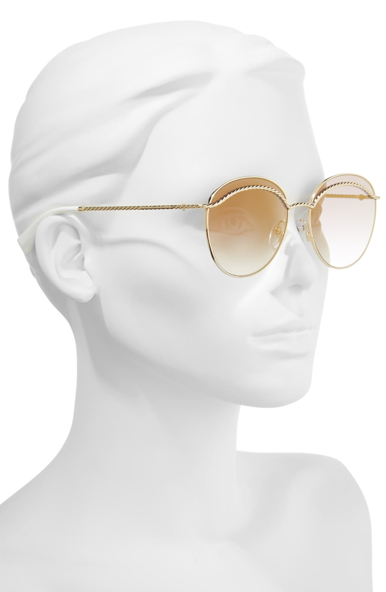 Alternate Image 2  - MARC JACOBS 58mm Round Sunglasses