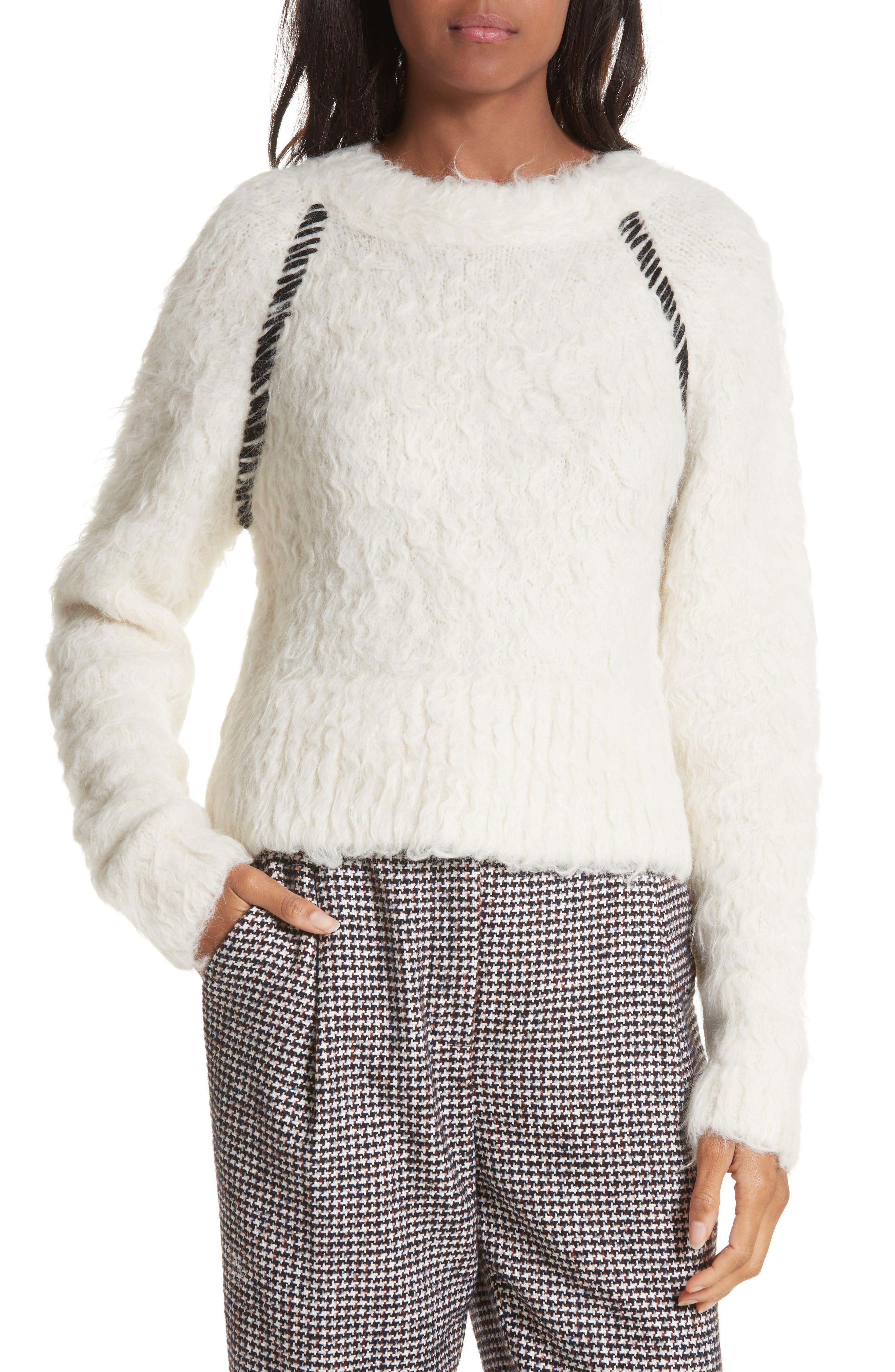 Rachel Comey Recline Alpaca & Wool Blend Sweater