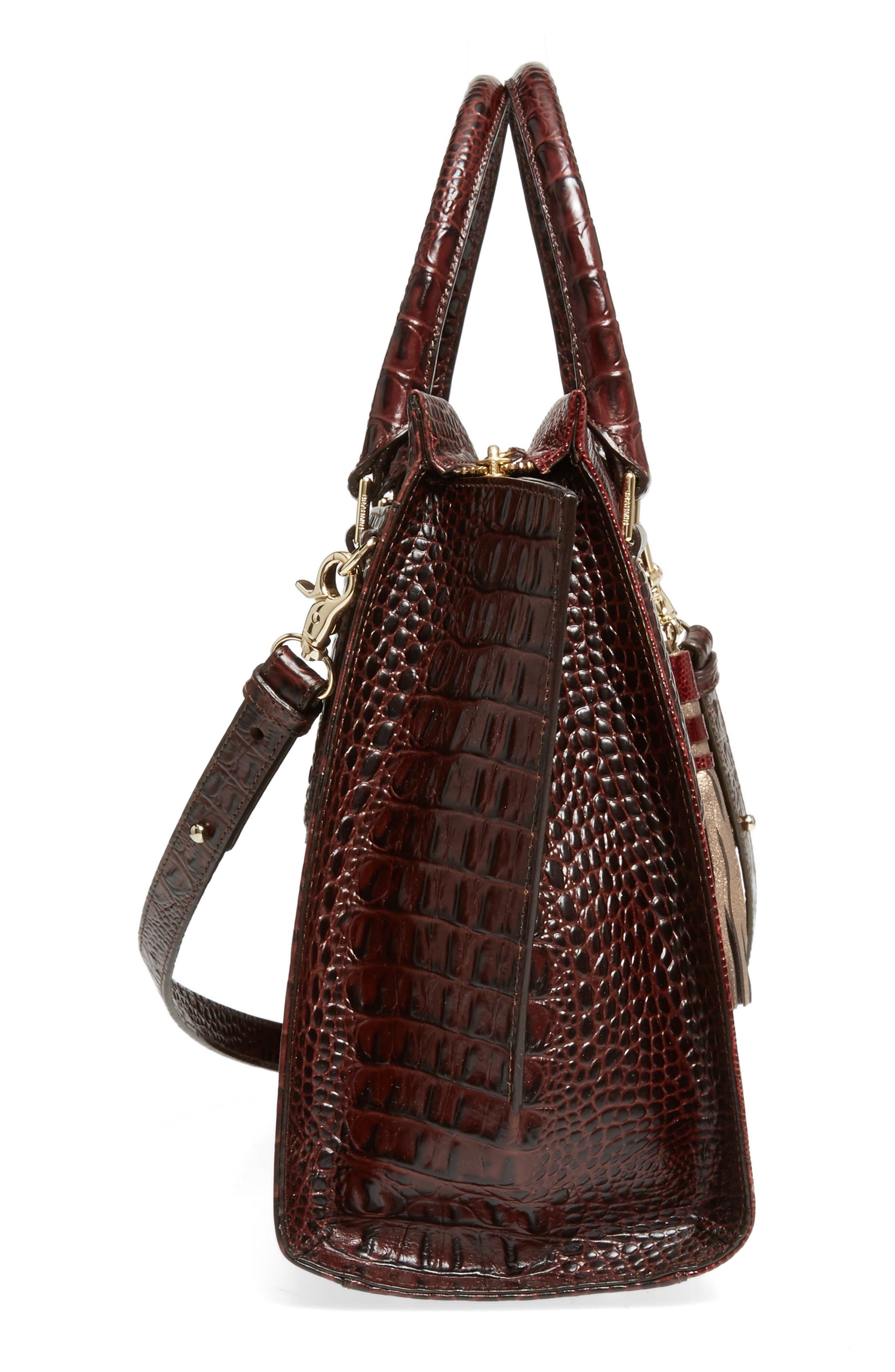 Alternate Image 5  - Brahmin Red Verona - Priscilla Leather Satchel