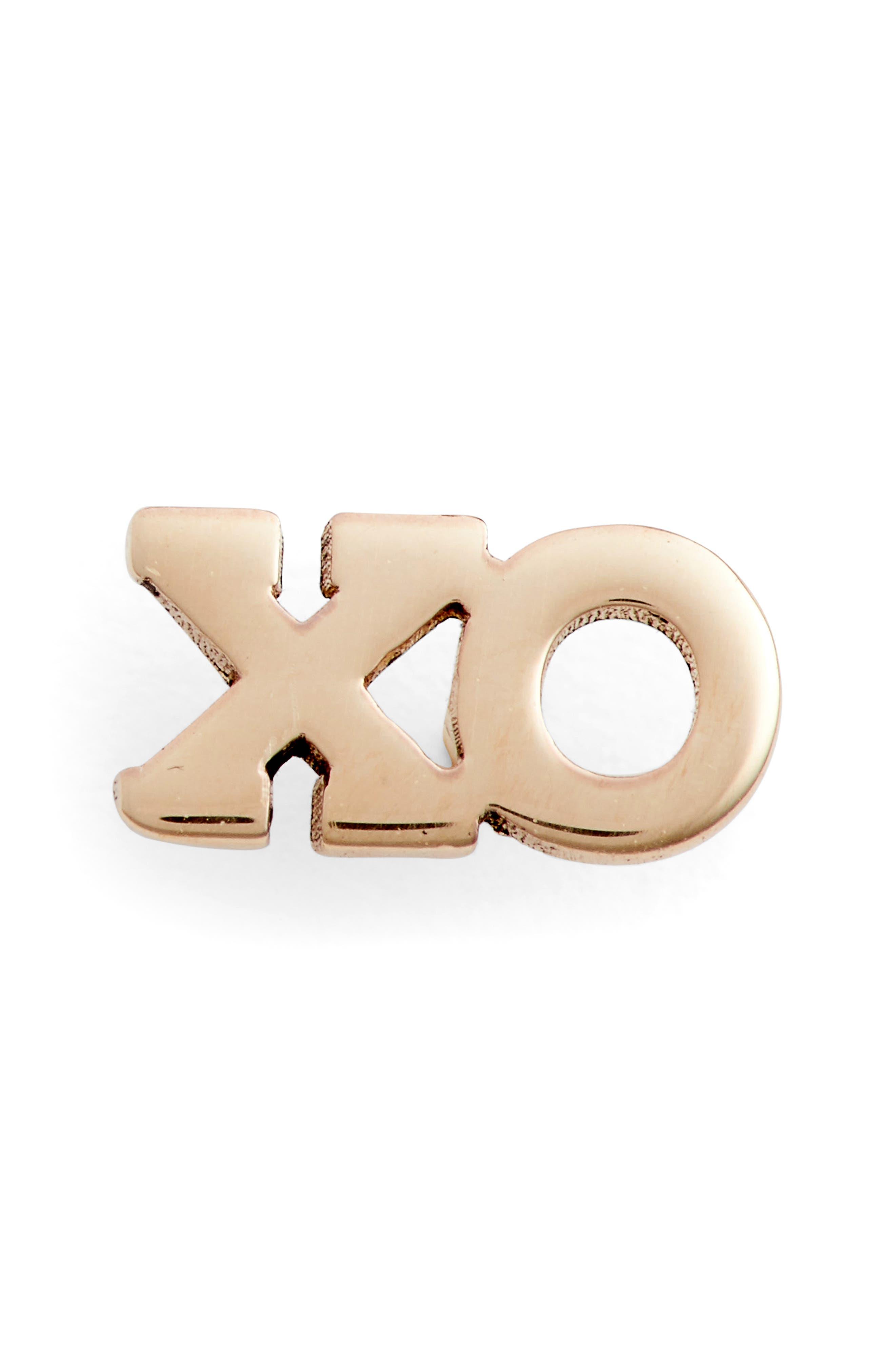 Zoë Chicco XO Stud Earring