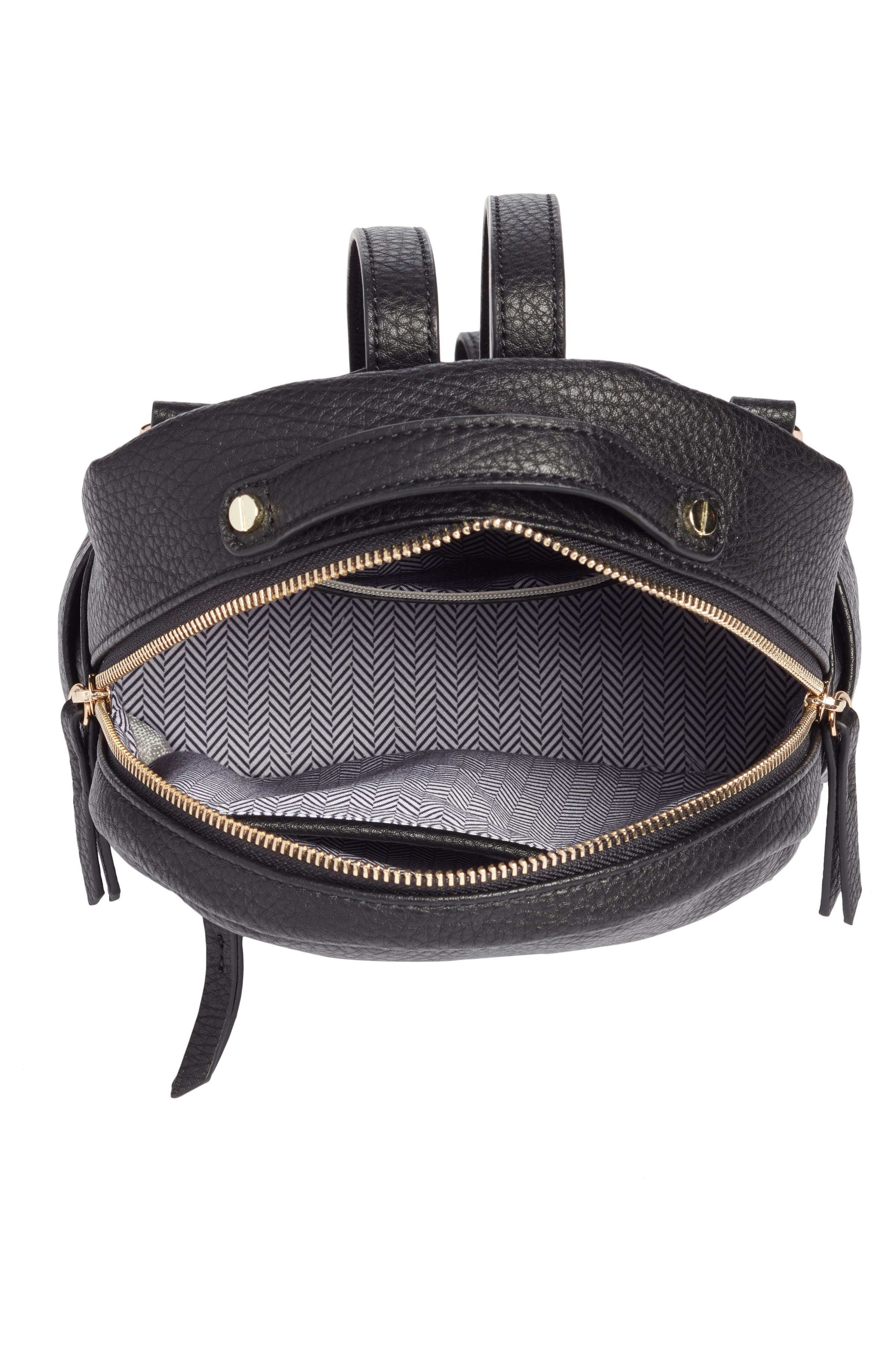 Alternate Image 6  - Mali + Lili Faux Leather Backpack
