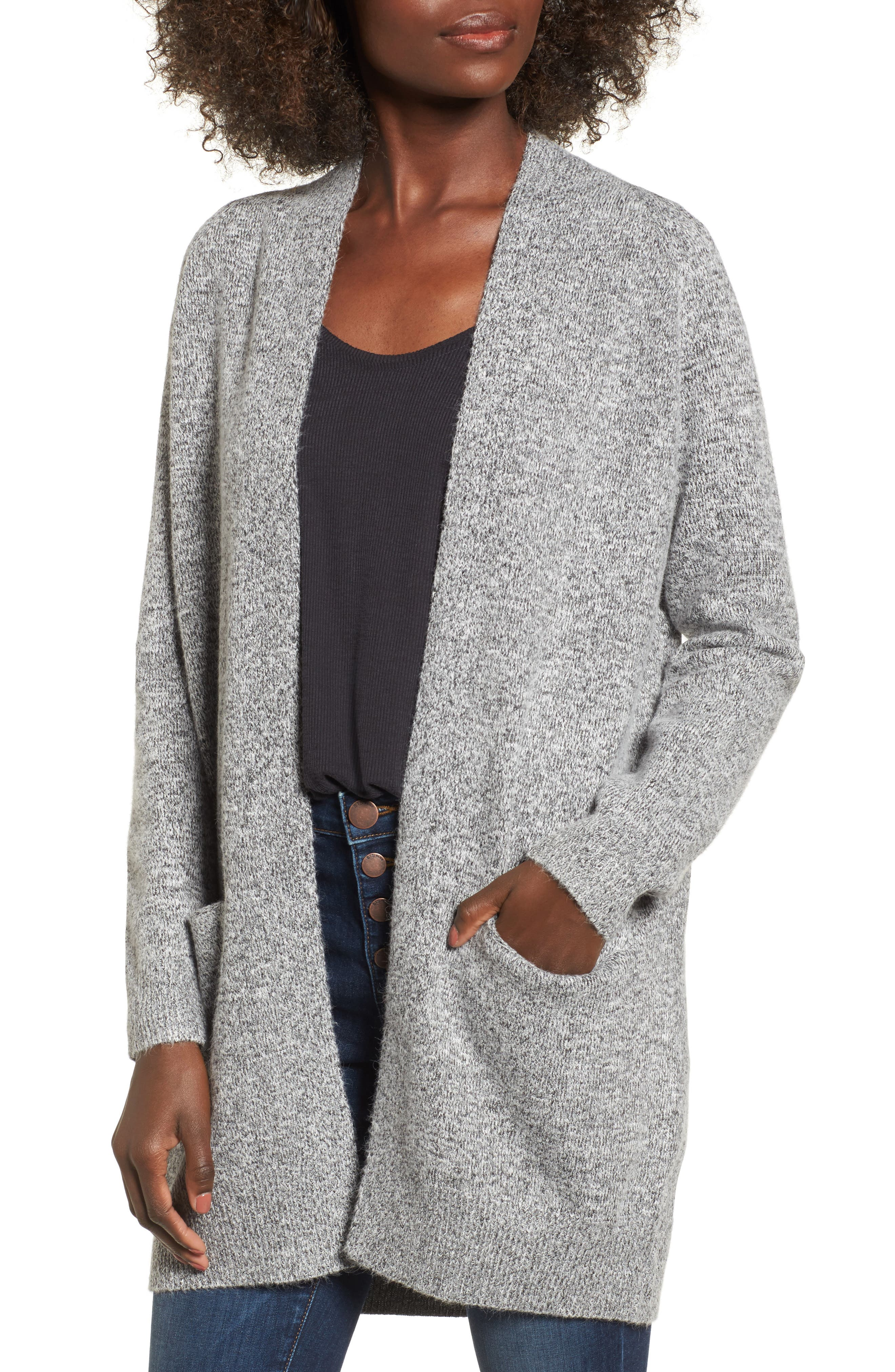 Main Image - Dreamers by Debut Cozy Open Cardigan
