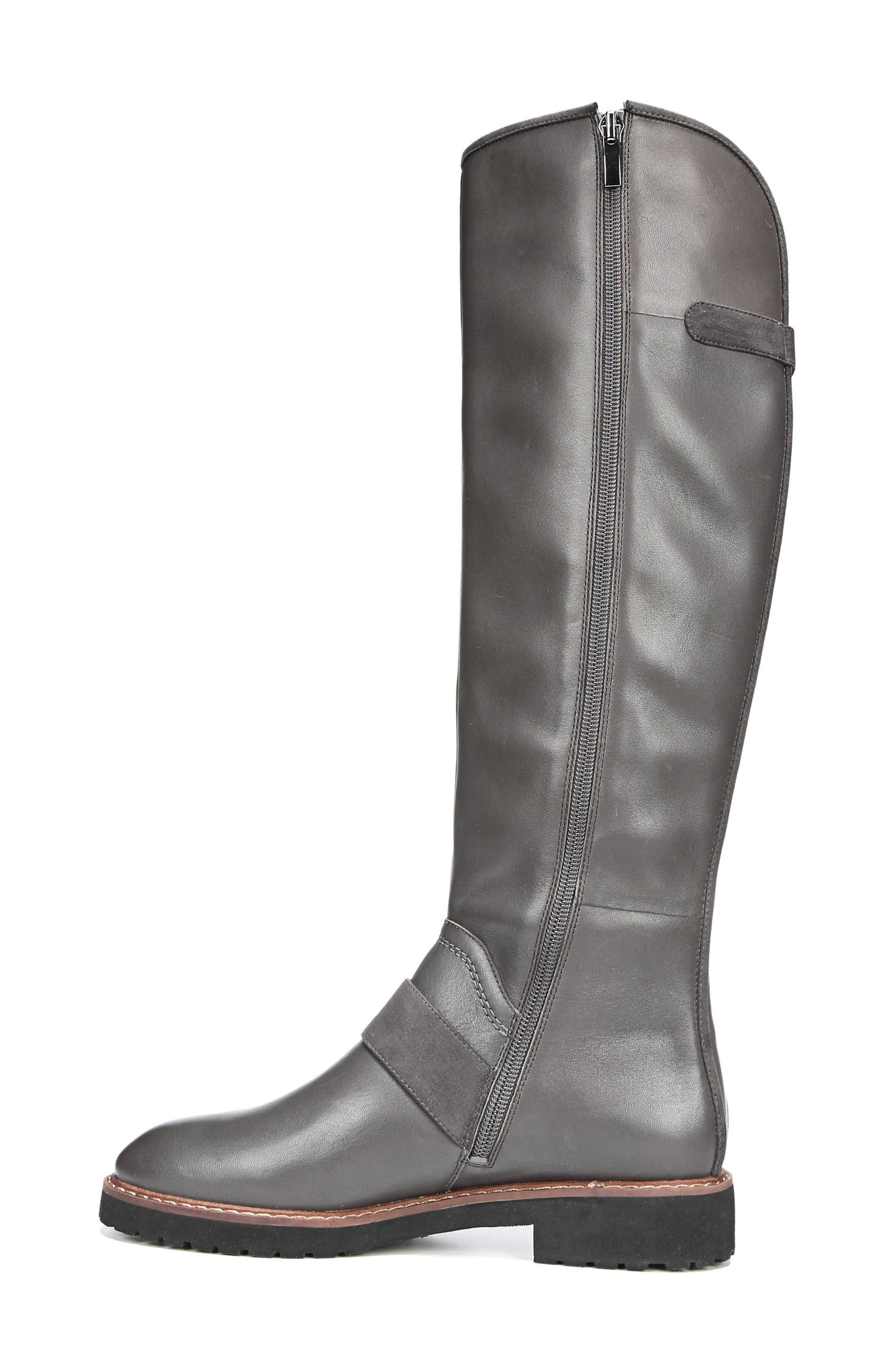 Cutler Riding Boot,                             Alternate thumbnail 2, color,                             Peat Leather
