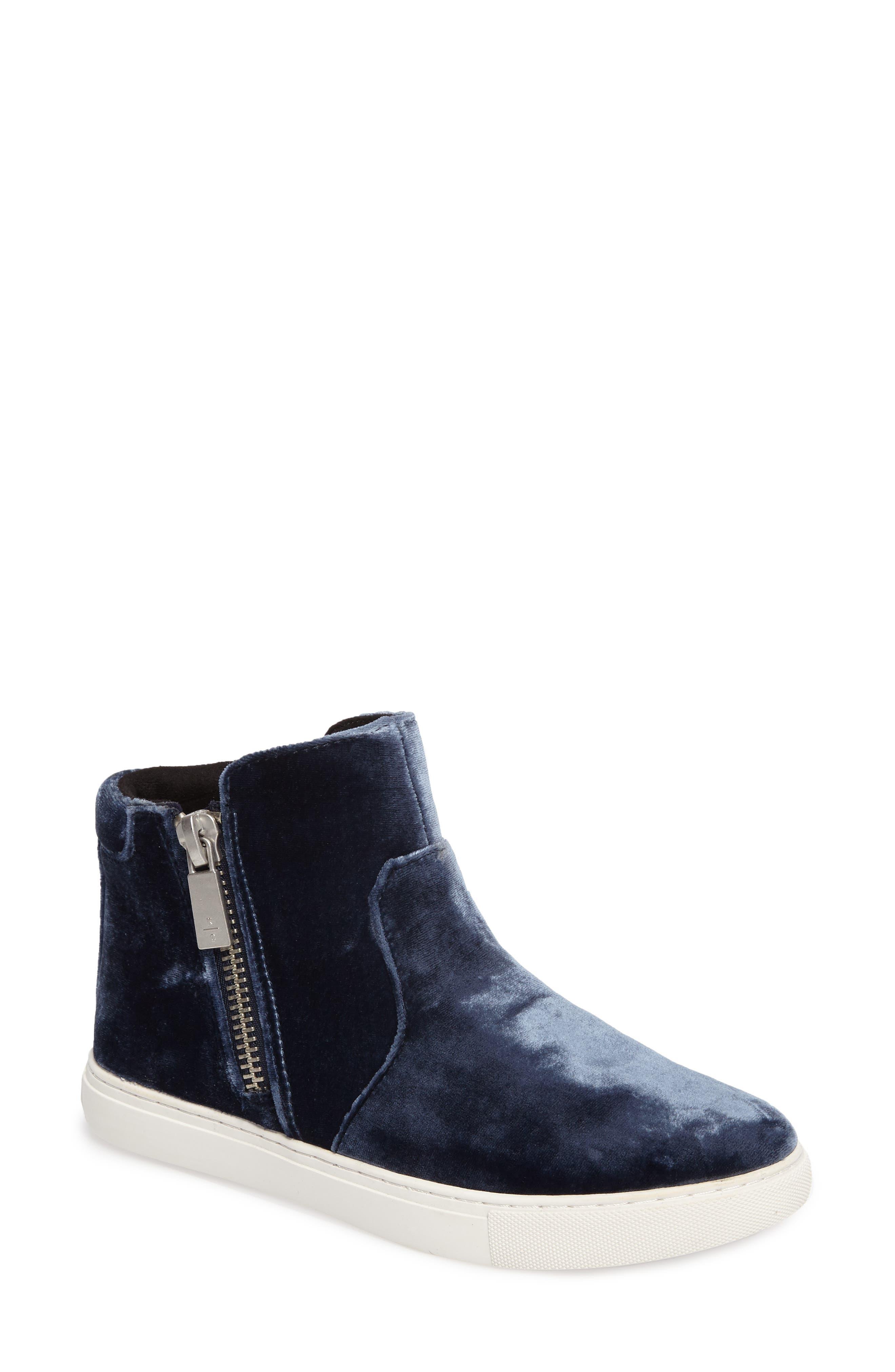 Alternate Image 1 Selected - Kenneth Cole New York 'Kiera' Zip High Top Sneaker (Women)