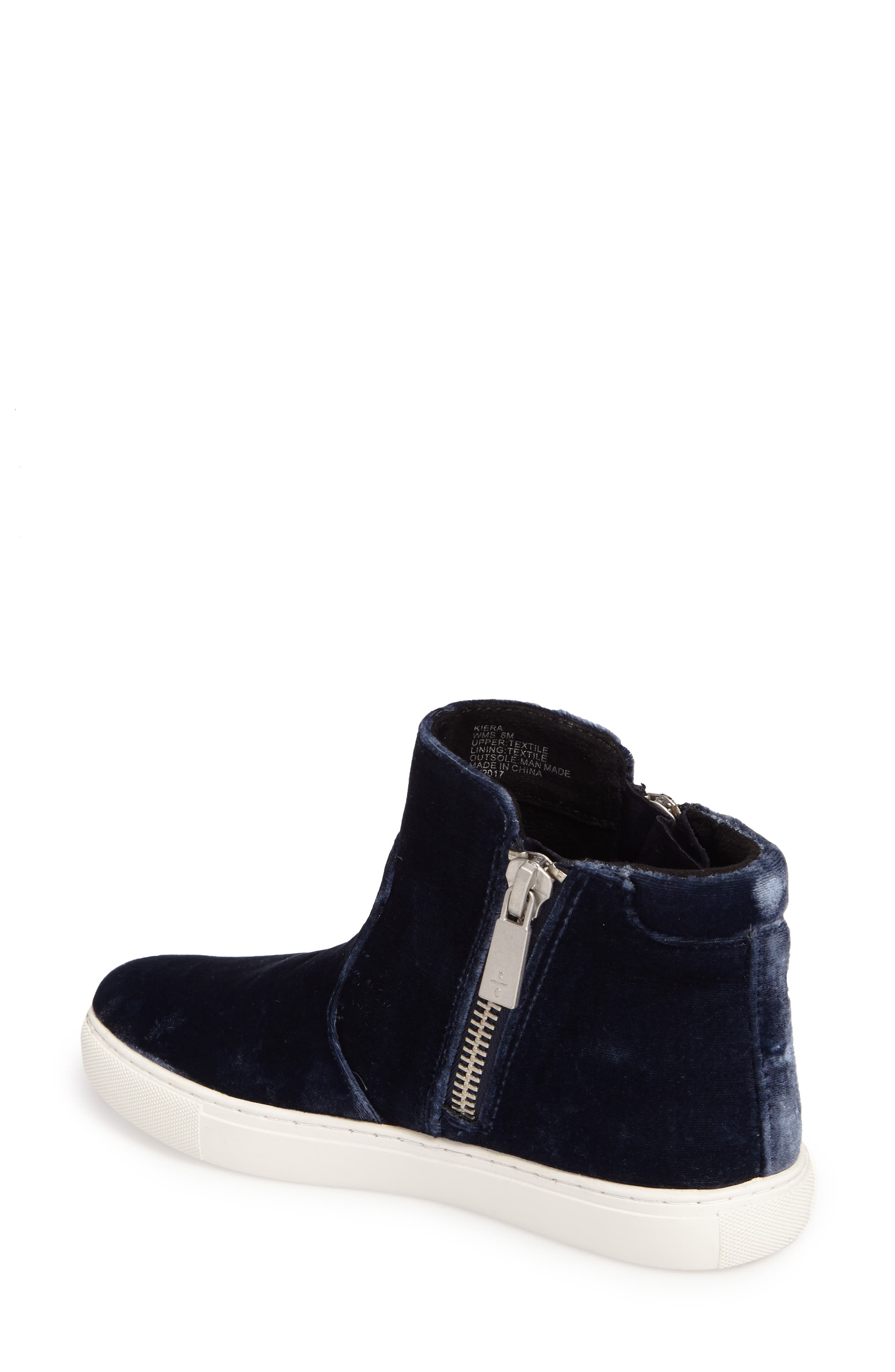 Alternate Image 2  - Kenneth Cole New York 'Kiera' Zip High Top Sneaker (Women)