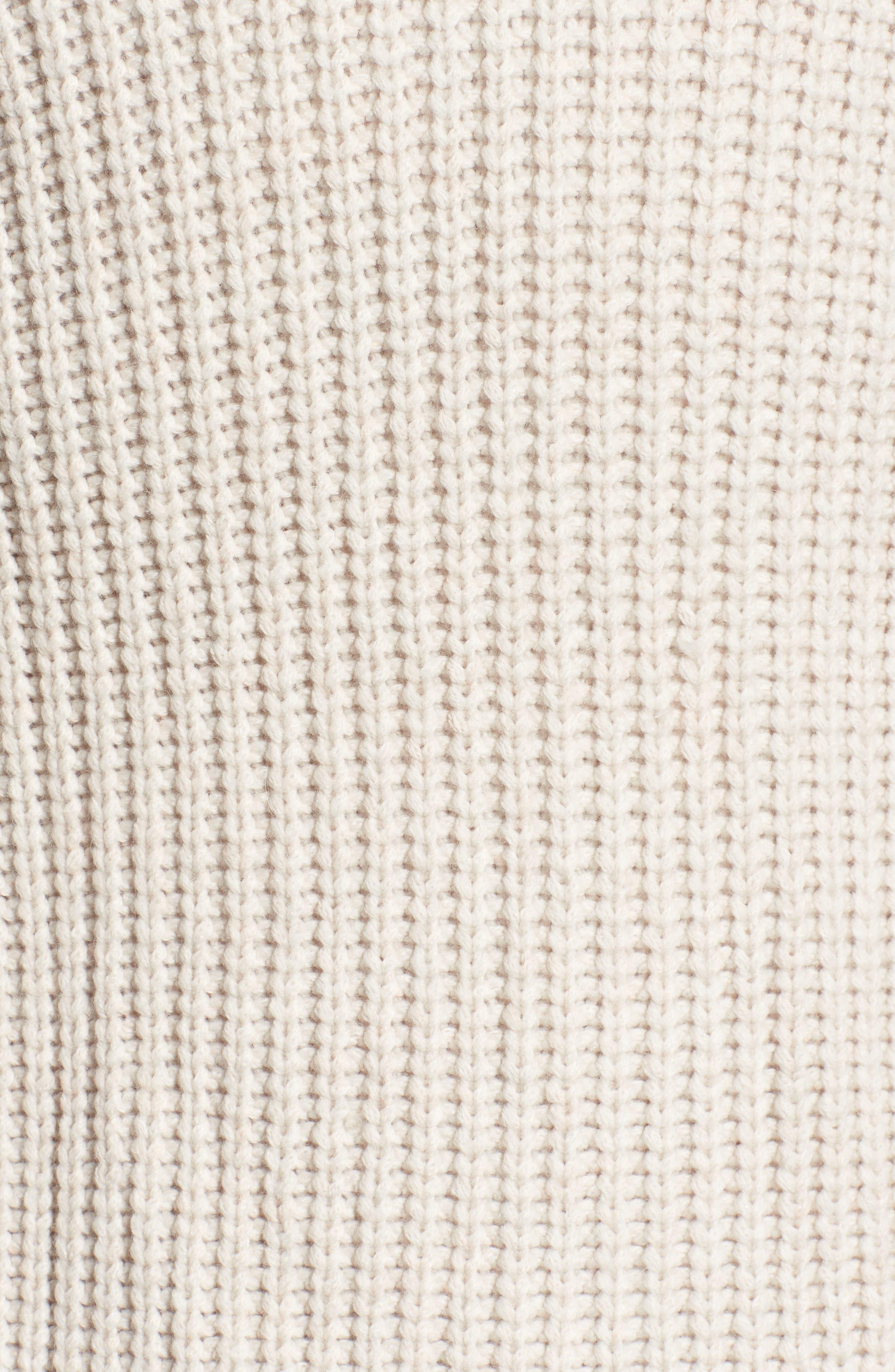 Alternate Image 5  - Velvet by Graham & Spencer Textured Button Cardigan