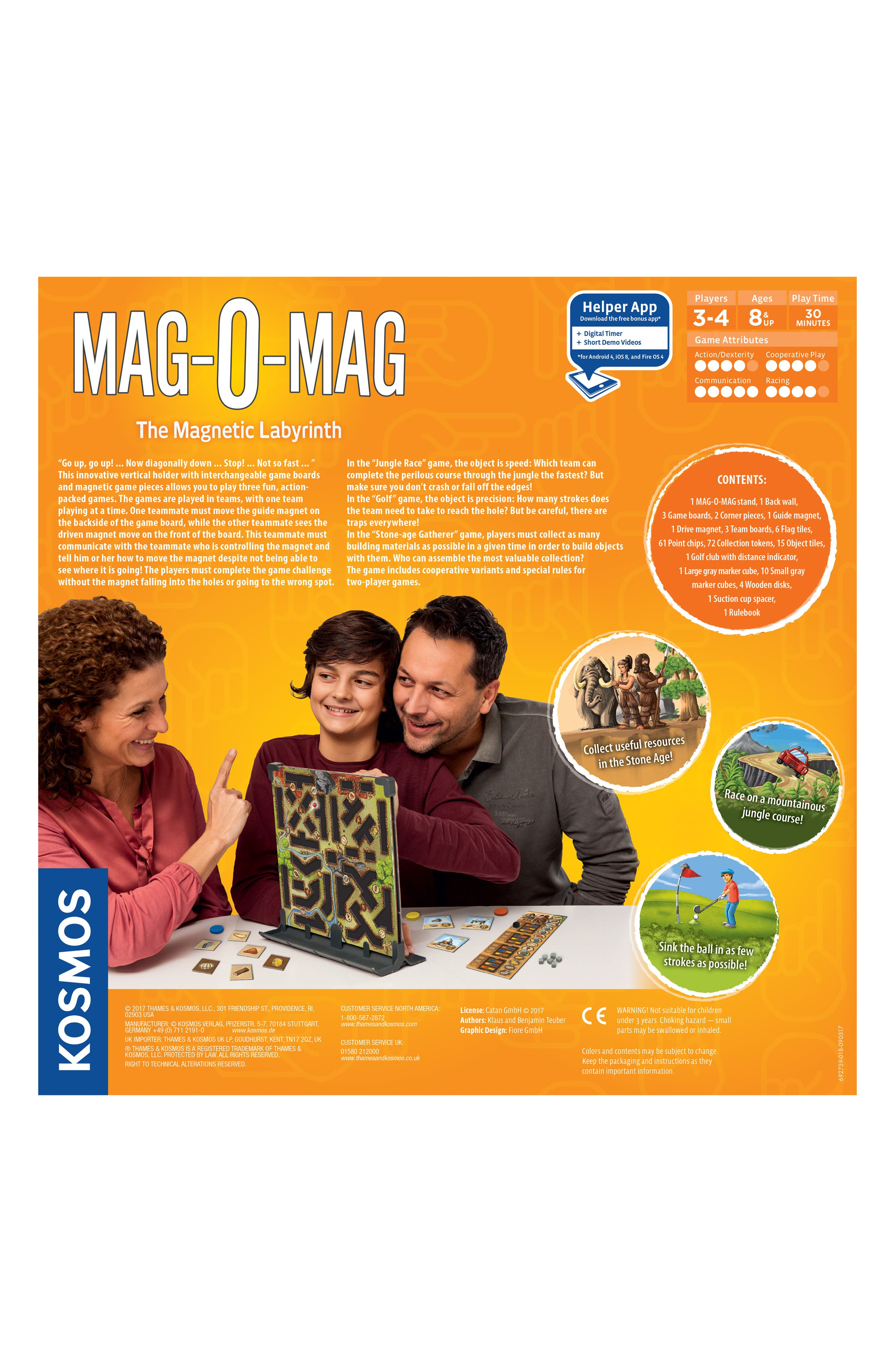 Mag-O-Mag Magnetic Labyrinth Game,                             Alternate thumbnail 3, color,                             Multi