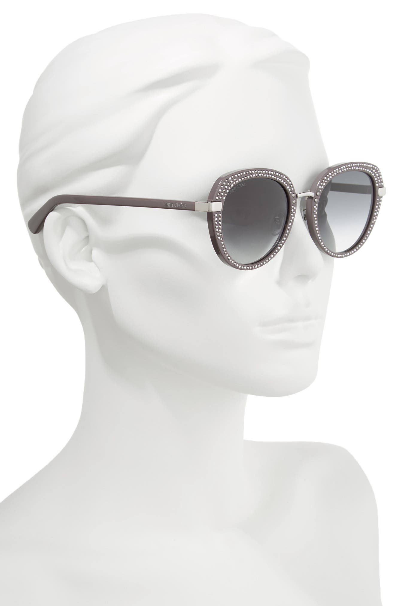 Alternate Image 2  - Jimmy Choo Moris 52mm Oversize Sunglasses