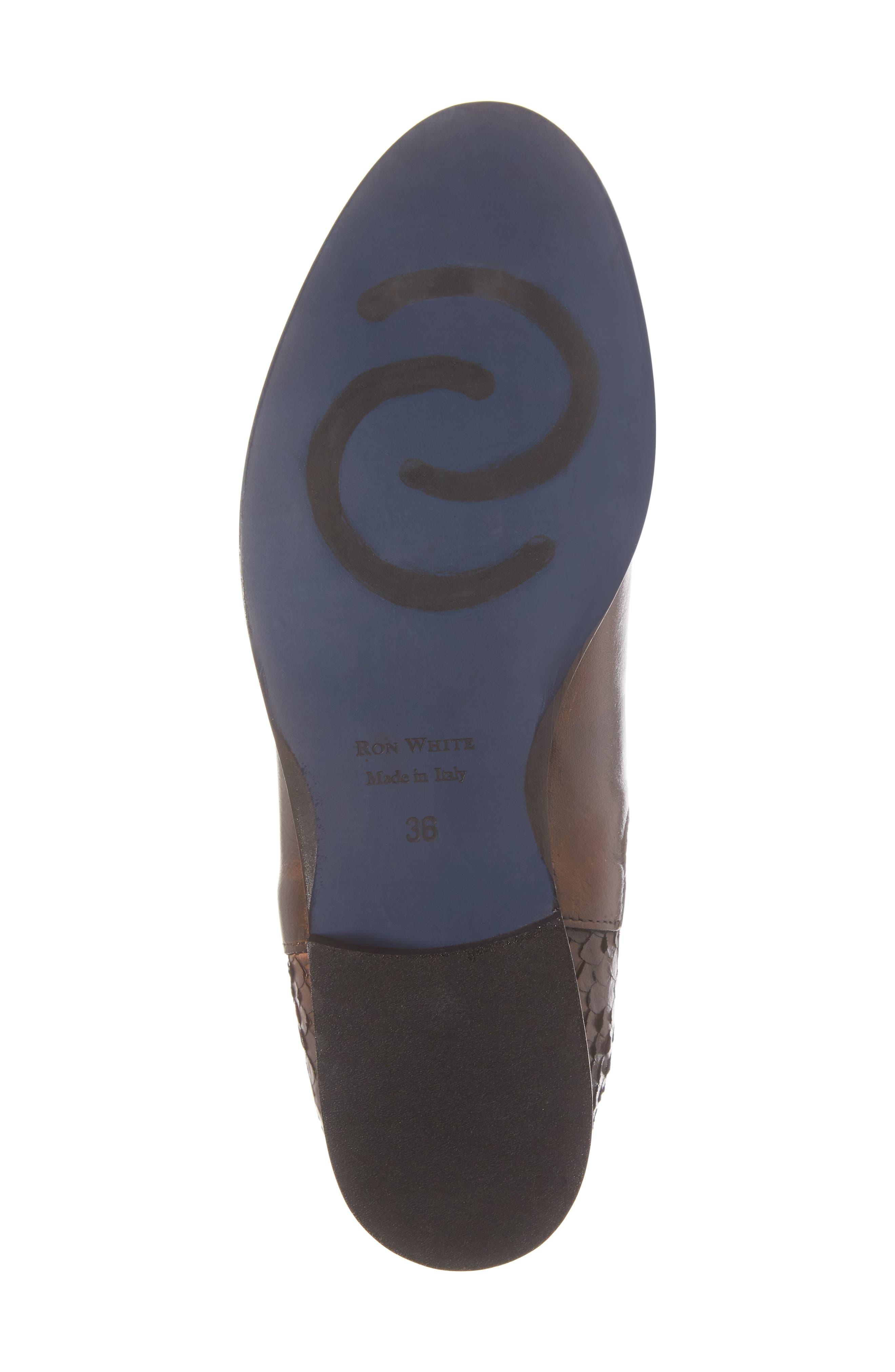 Padamae Water Resistant Chelsea Boot,                             Alternate thumbnail 6, color,                             Onyx Suede