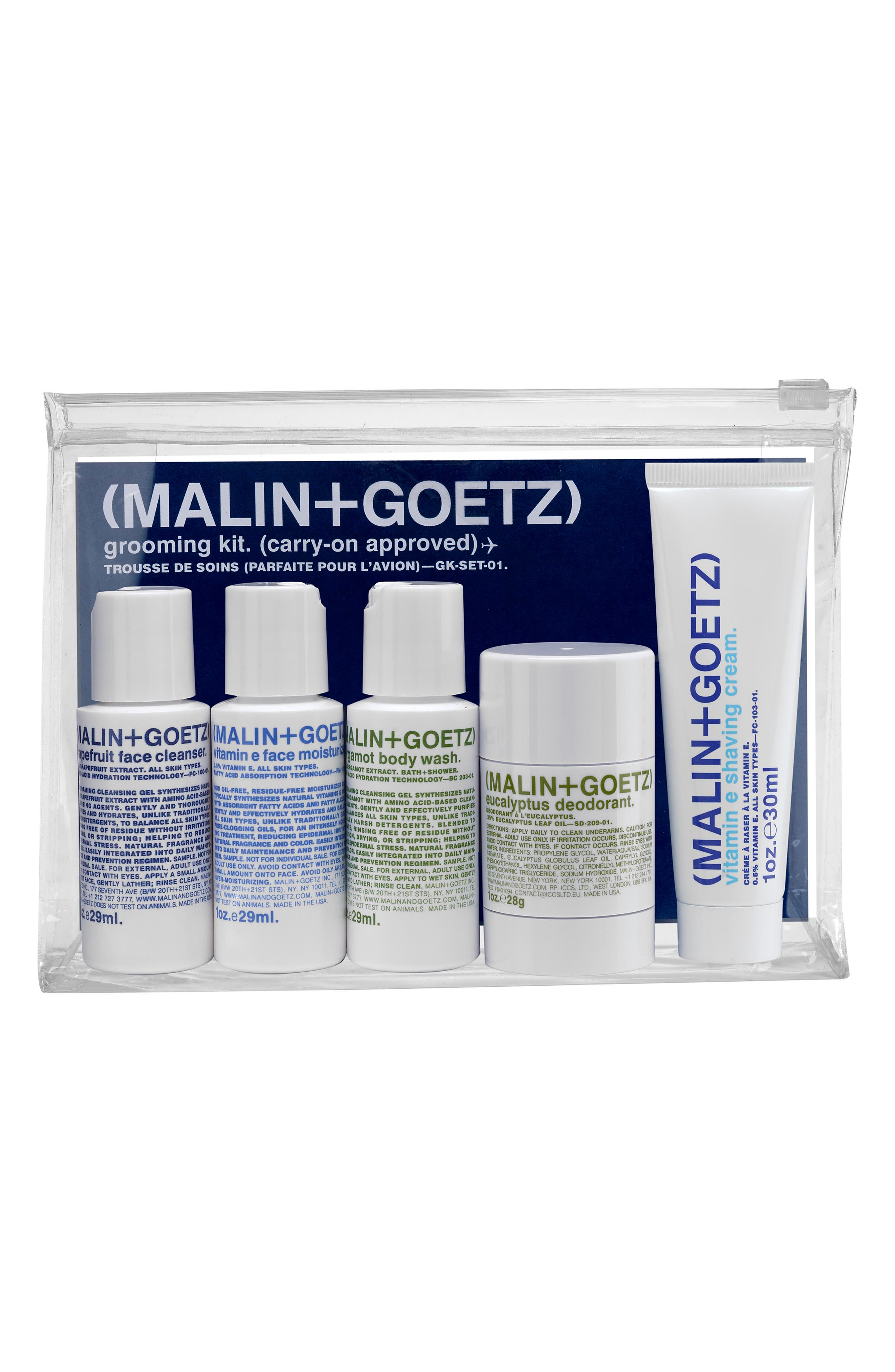 Alternate Image 1 Selected - SPACE.NK.apothecary Malin + Goetz Grooming Kit ($46 Value)