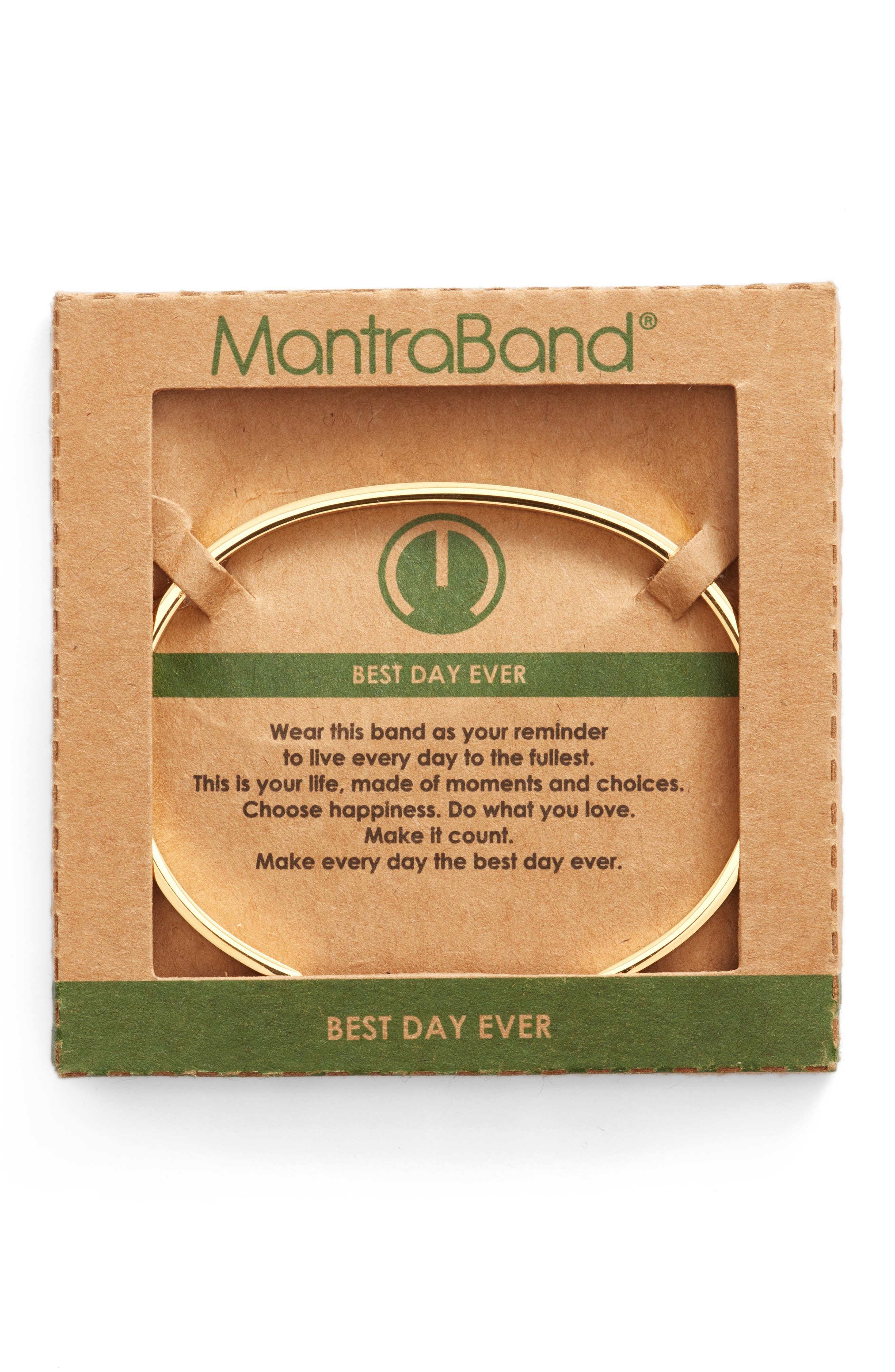 Alternate Image 2  - MantraBand® Best Day Ever Cuff