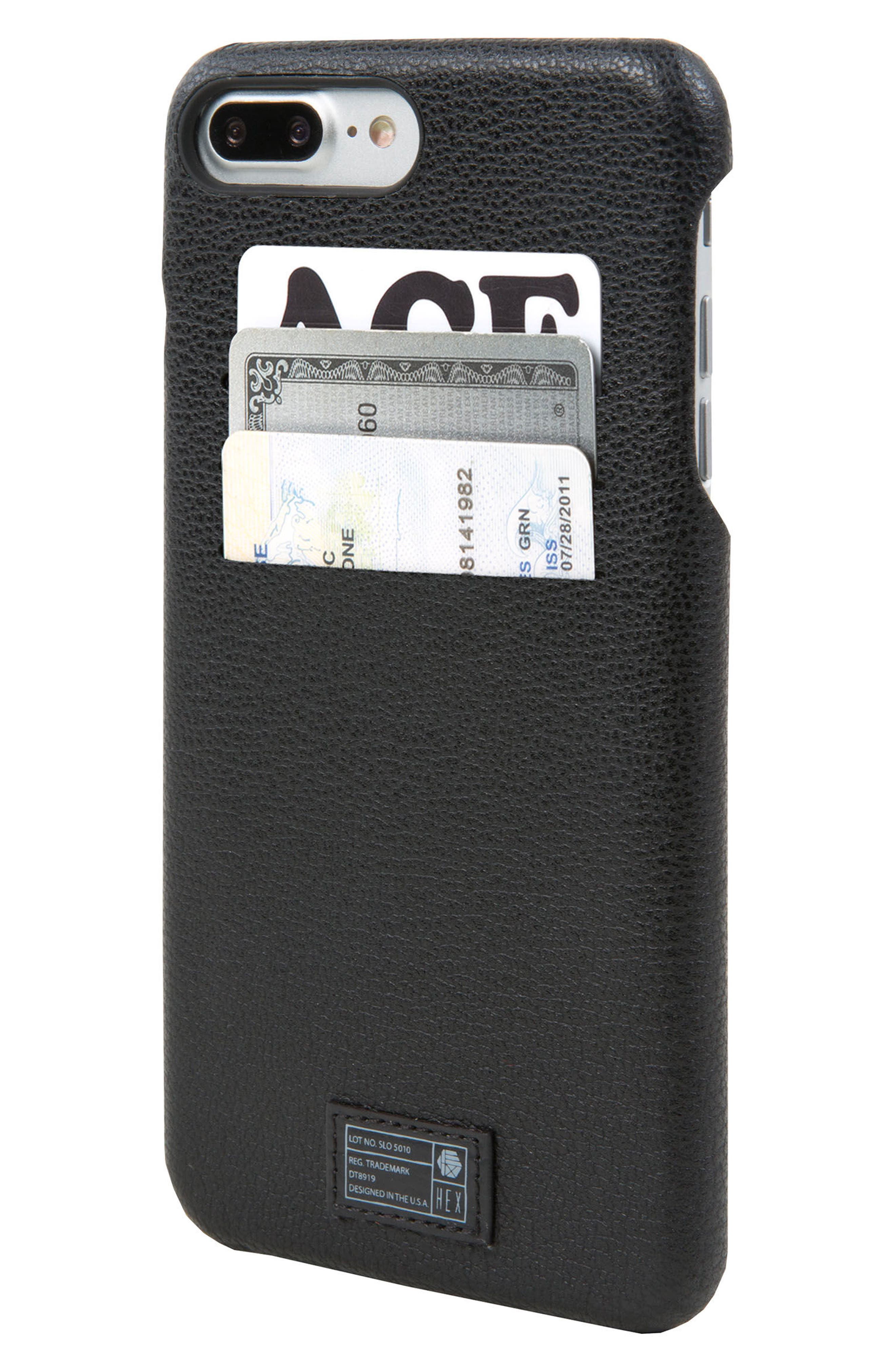 Alternate Image 2  - HEX Solo iPhone 7/8 Plus Wallet Case