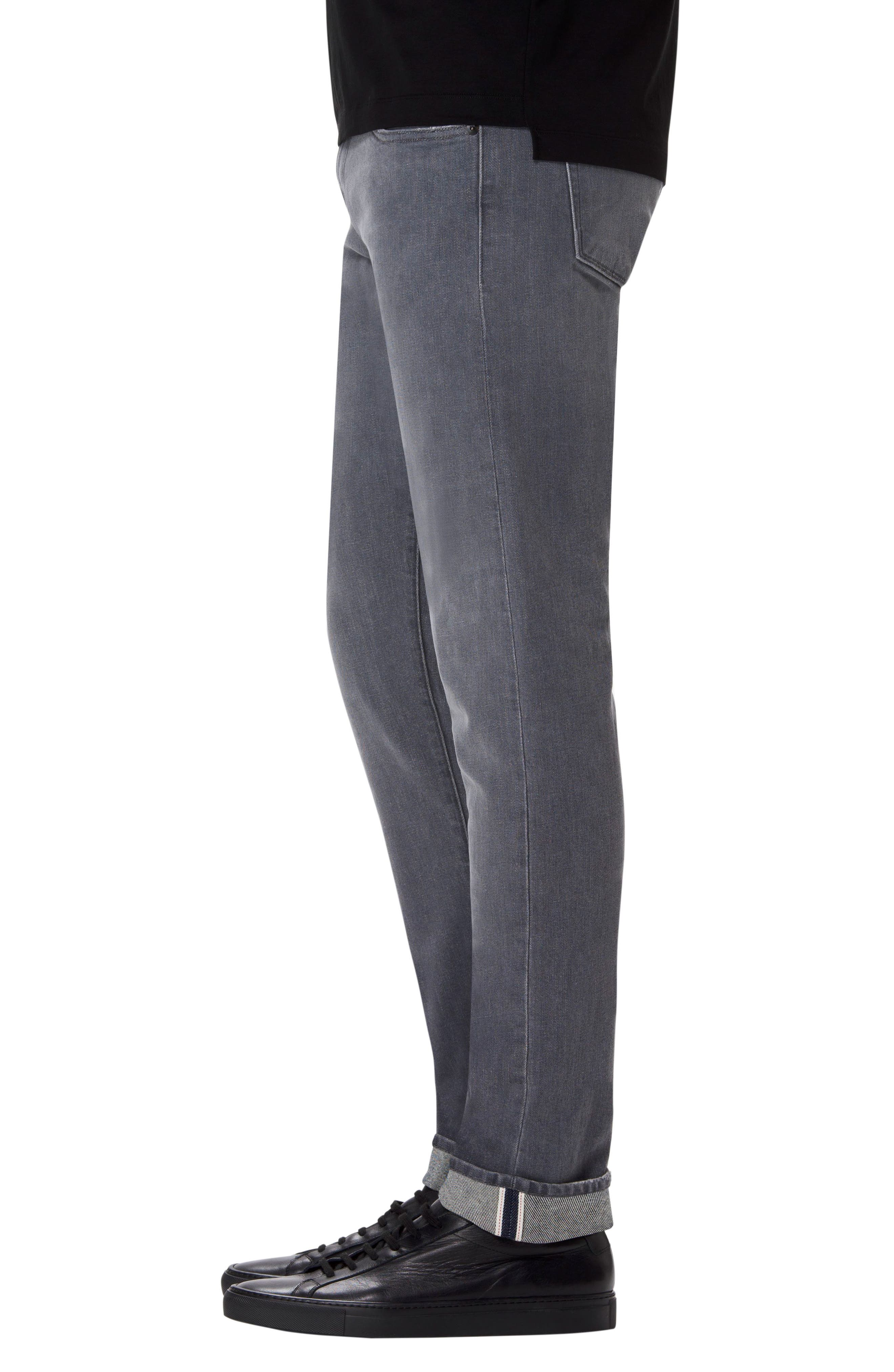 Alternate Image 3  - J Brand Tyler Slim Fit Jeans (Grey Luna)