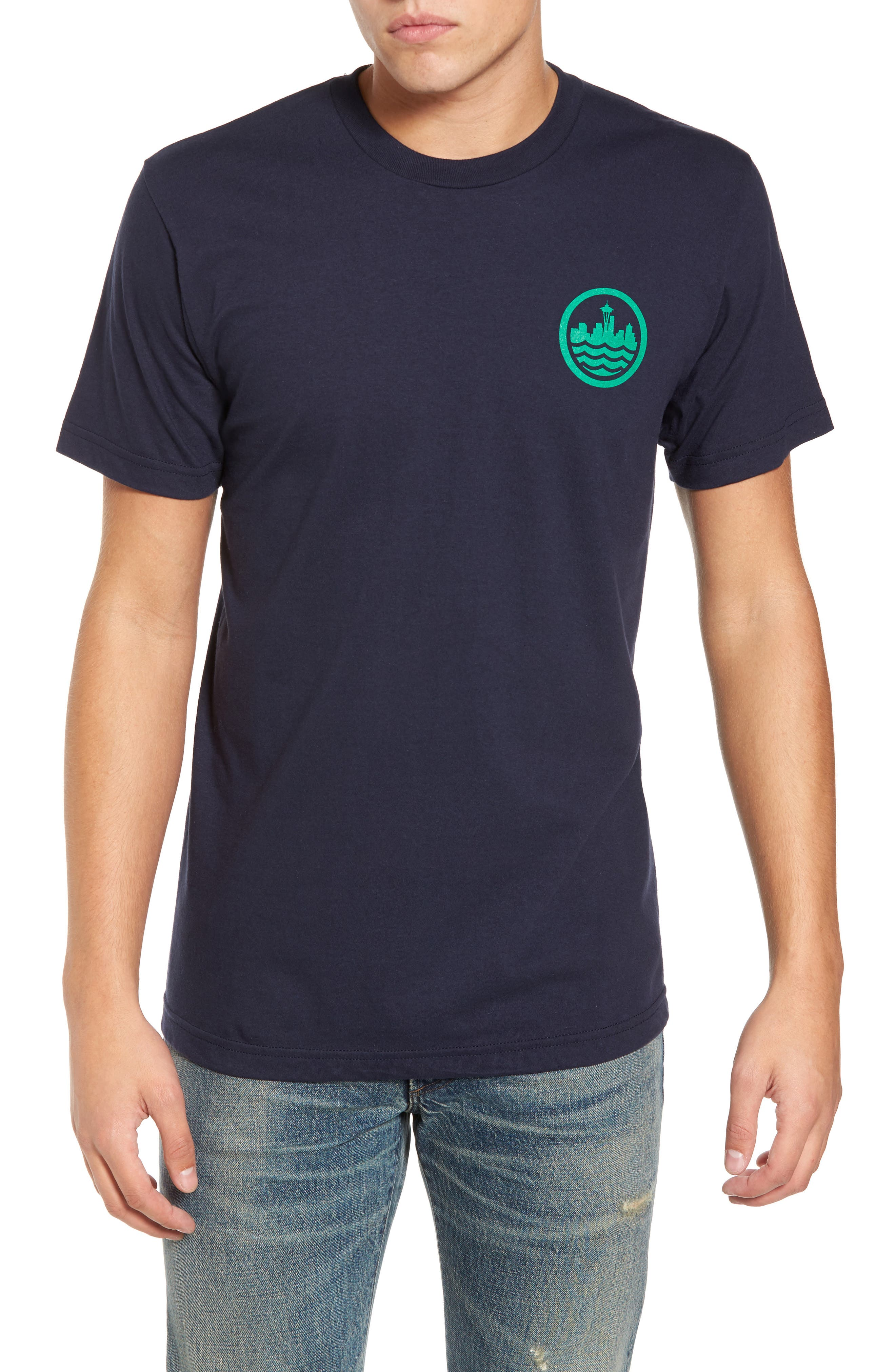 Main Image - Casual Industrees Sea Graphic T-Shirt
