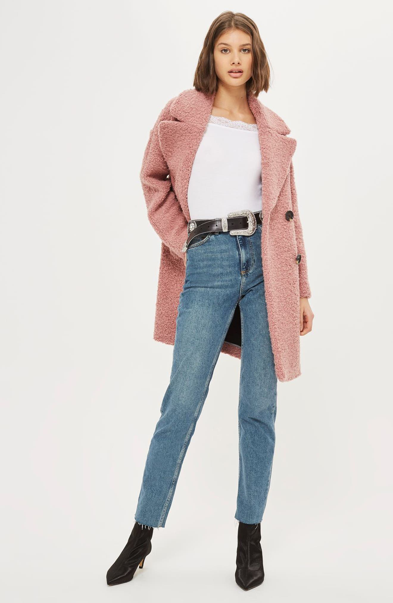 Alternate Image 4  - Topshop Lace Trim Off the Shoulder Bodysuit