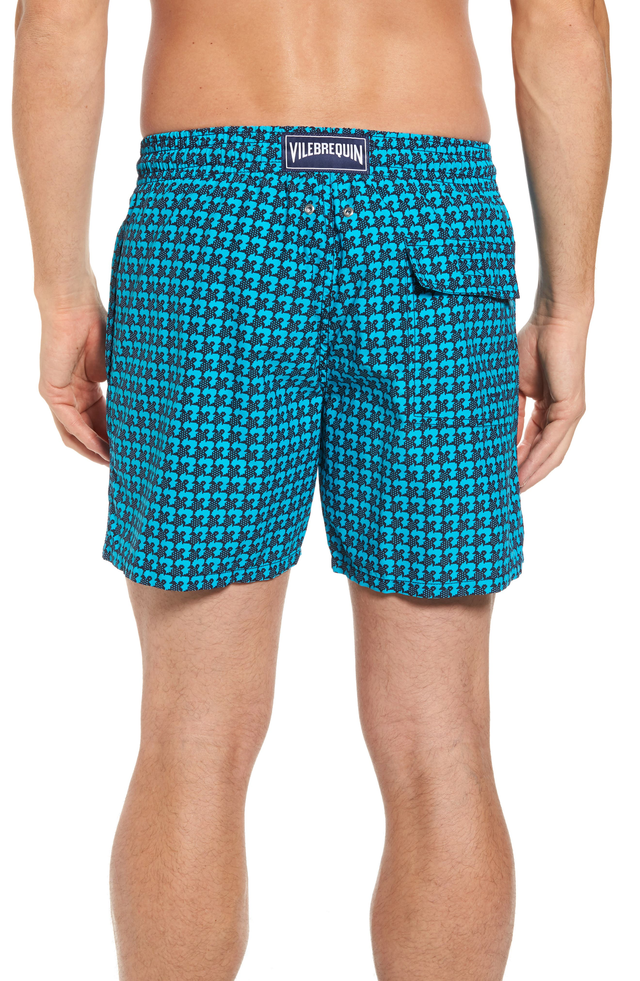 Moorea Baby Trop Swim Shorts,                             Alternate thumbnail 2, color,                             Azure