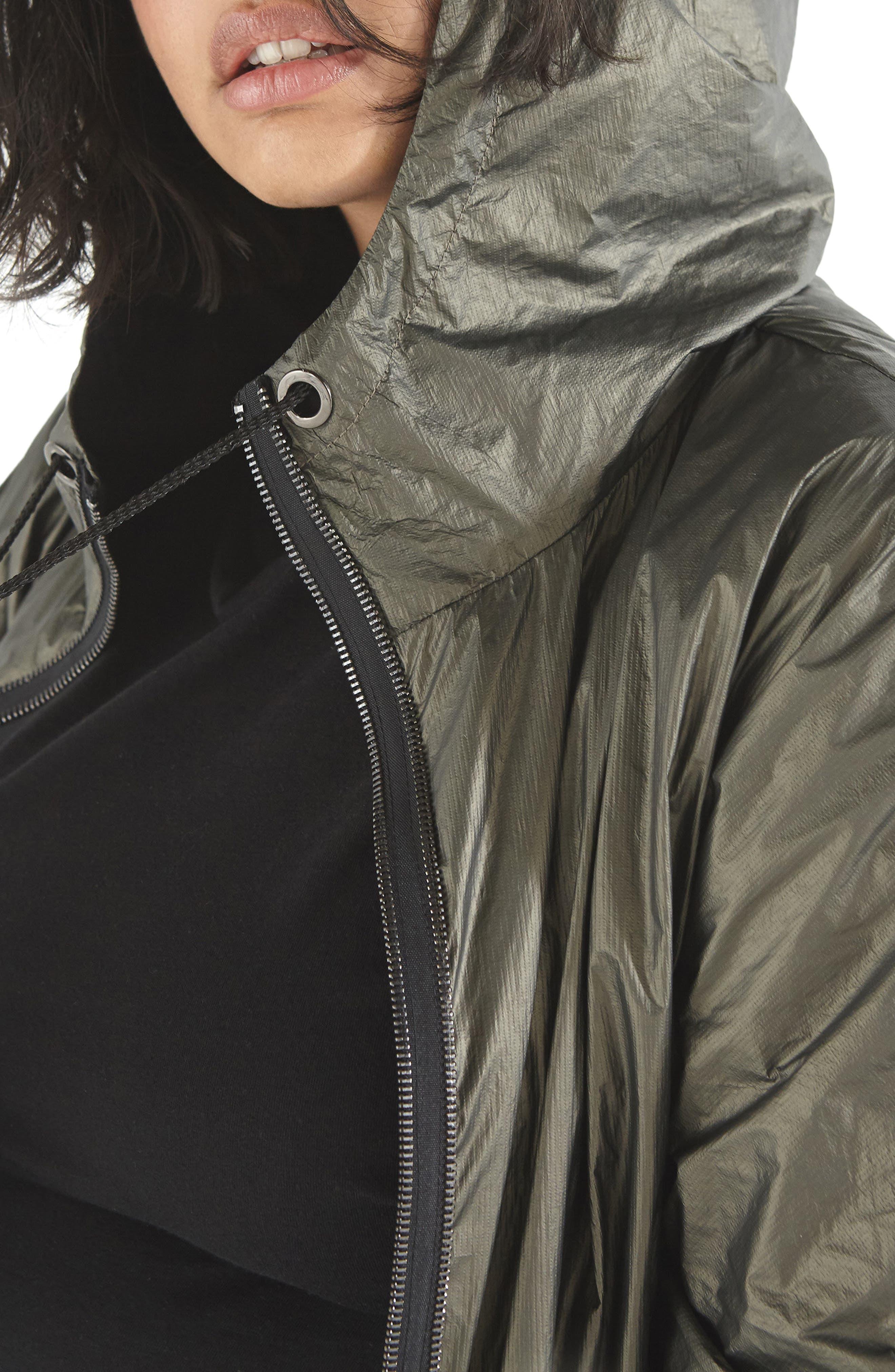 Parka Jacket,                             Alternate thumbnail 3, color,                             Khaki