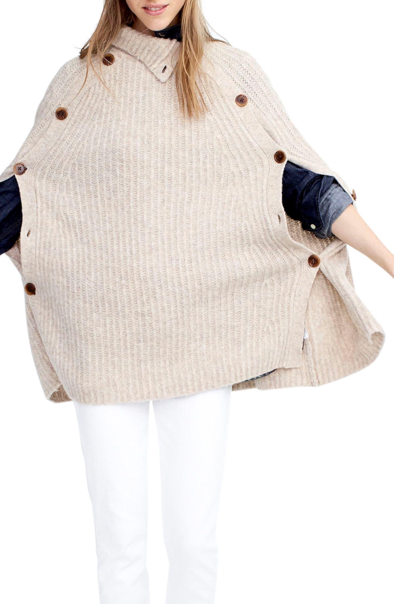 J.Crew Mason Convertible Sweater Cape