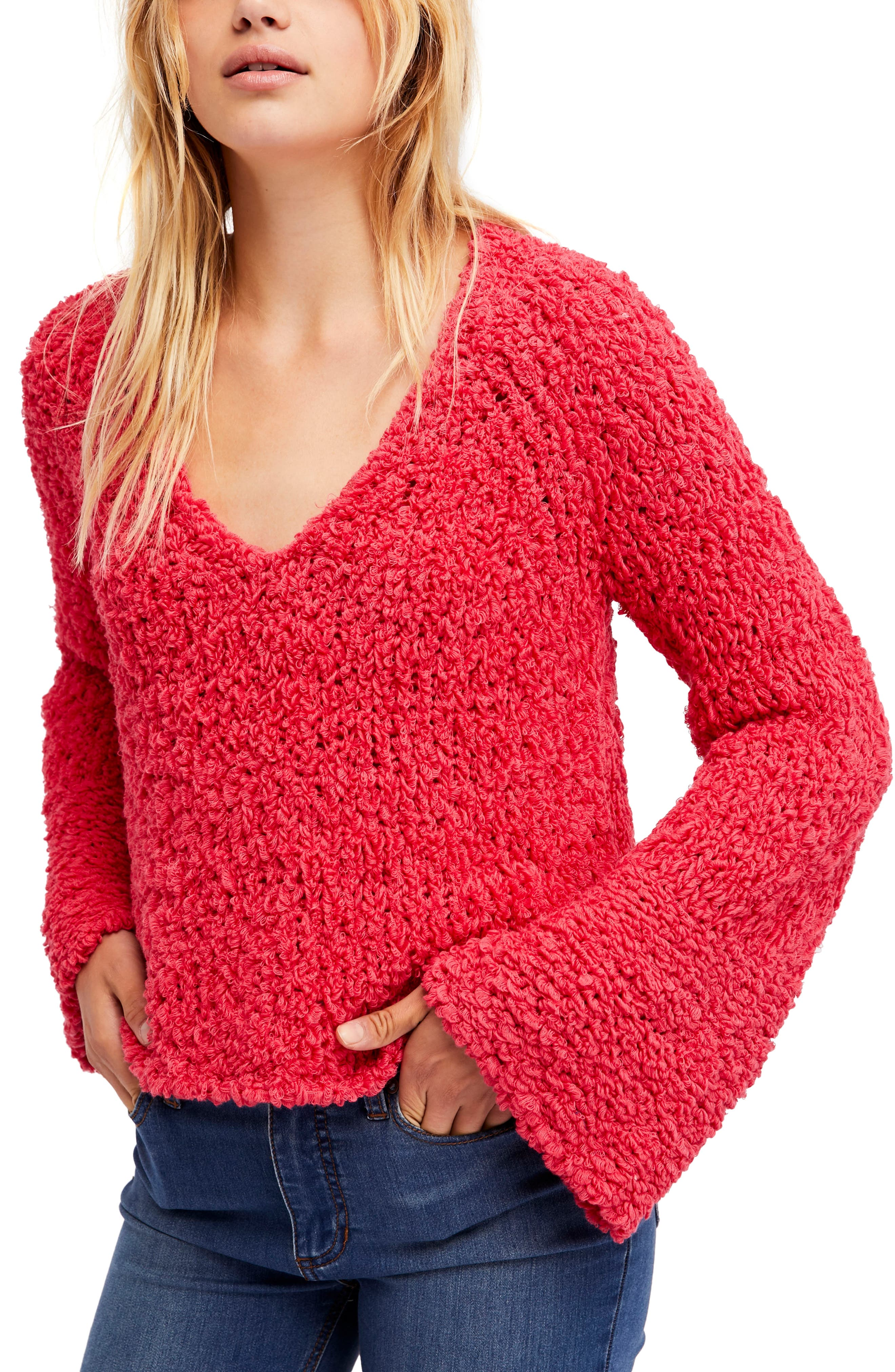 Sand Dune Sweater,                         Main,                         color, Pink
