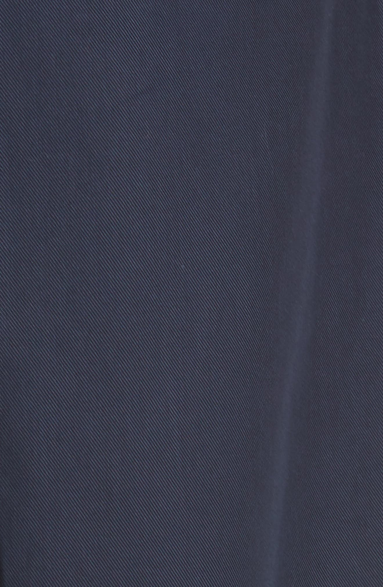 Cuffed Crop Pants,                             Alternate thumbnail 5, color,                             Navy Blue