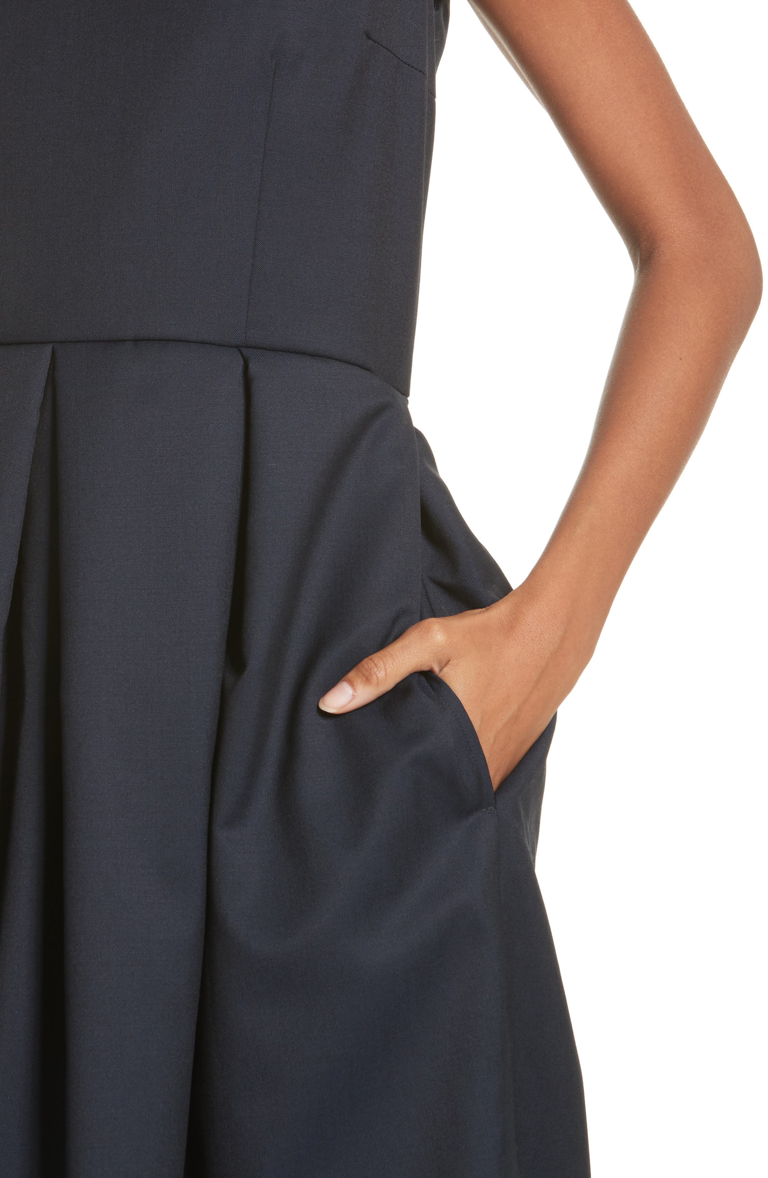 Alternate Image 5  - Comme de Garçons Sleeveless Fit & Flare Dress