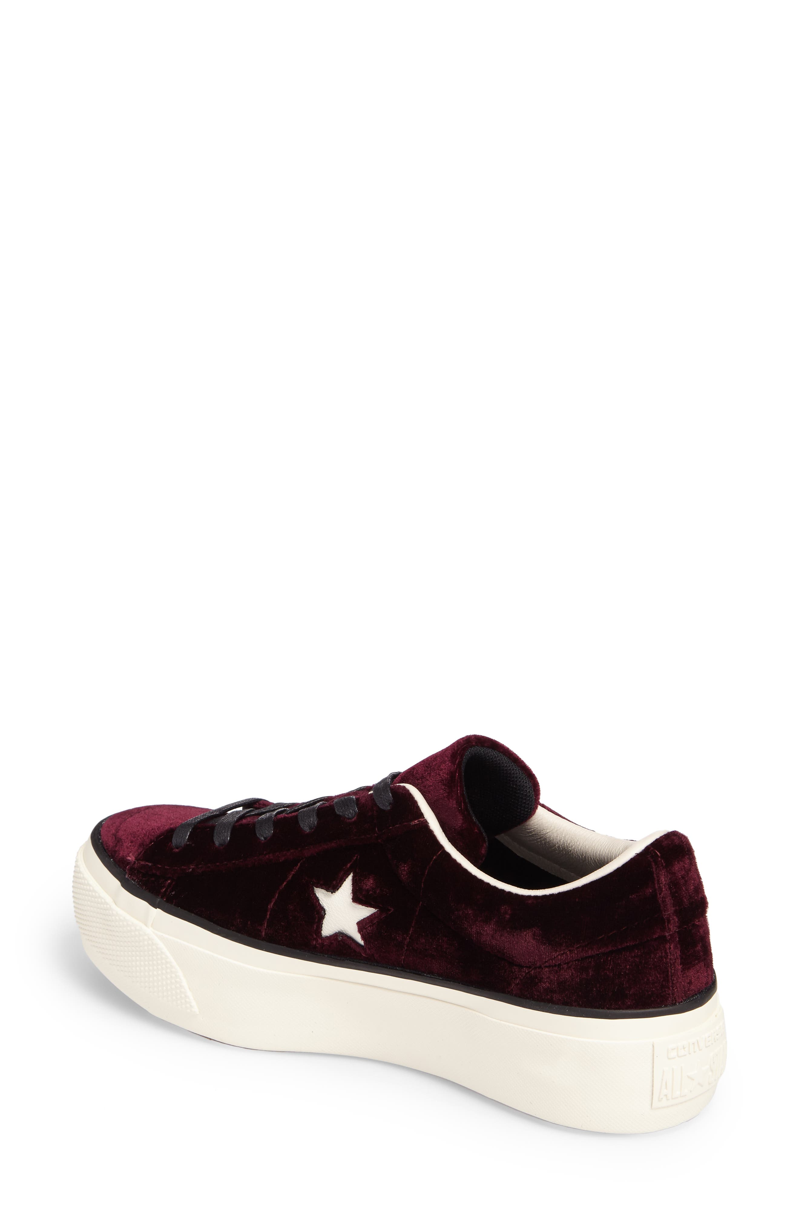 Alternate Image 2  - Converse Chuck Taylor® One Star Platform Sneaker (Women)