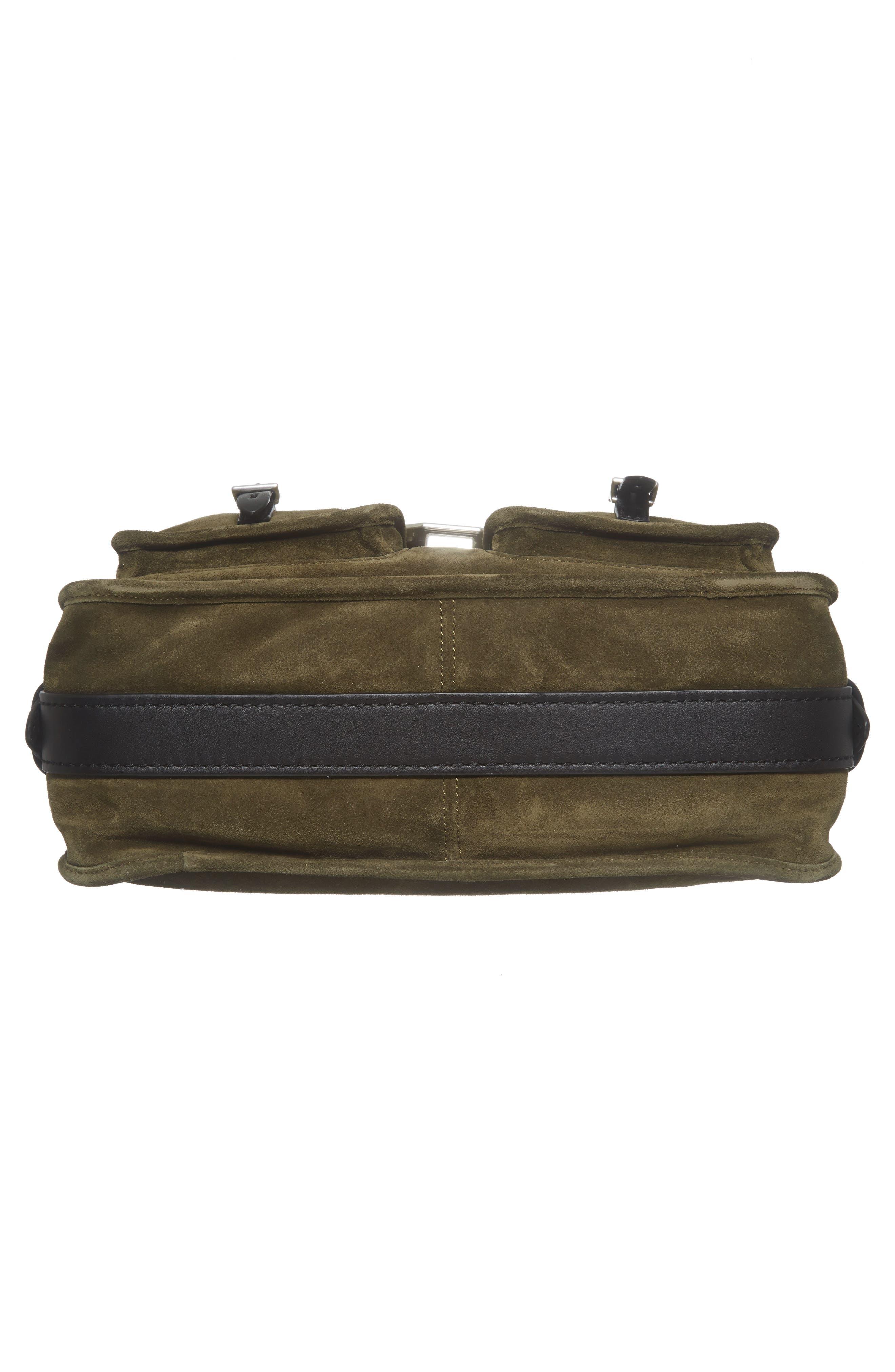 Alternate Image 6  - rag & bone Field Messenger Suede Shoulder Bag