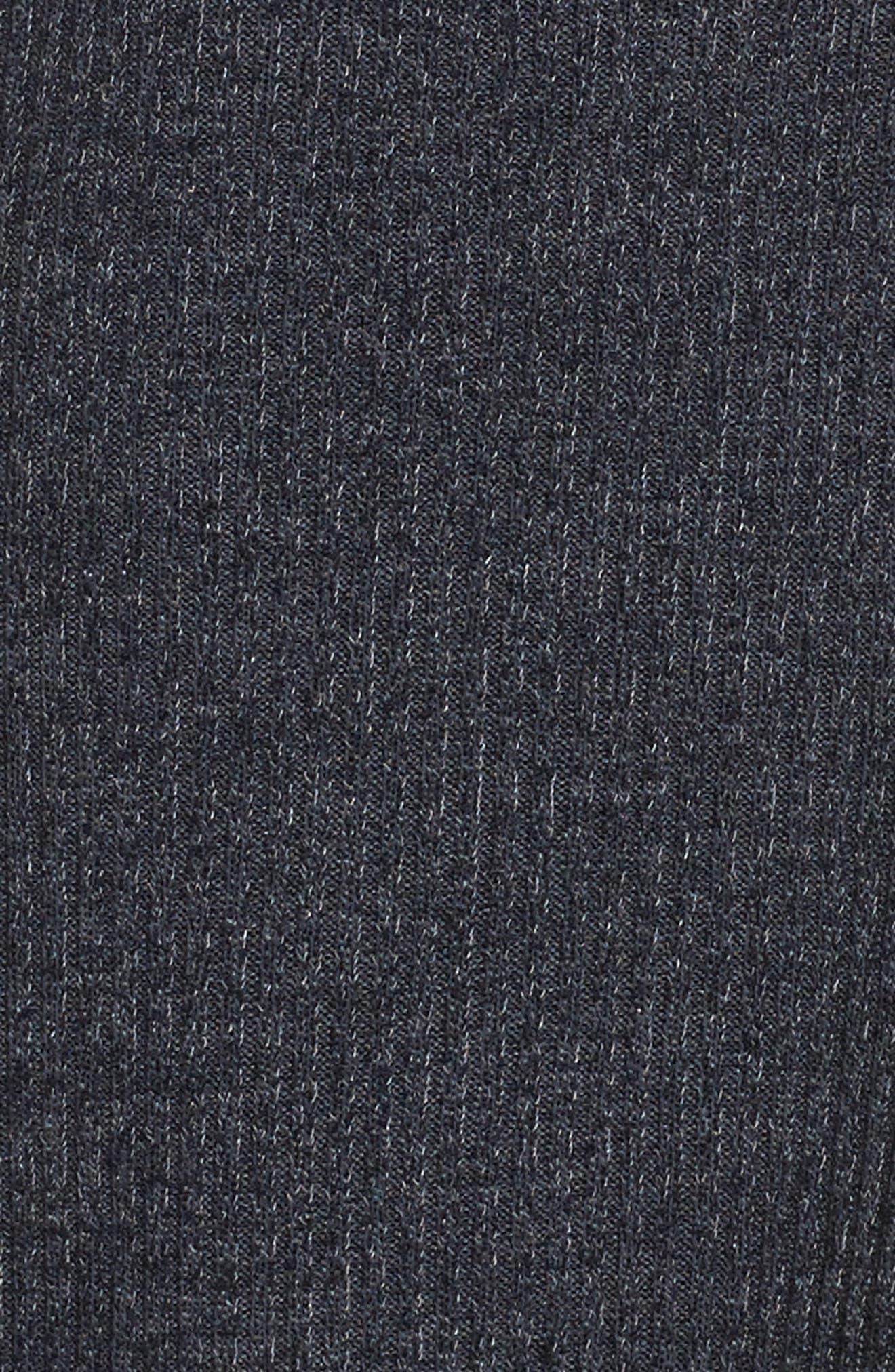 Alternate Image 5  - WAYF Corset Detail Sweatshirt Dress