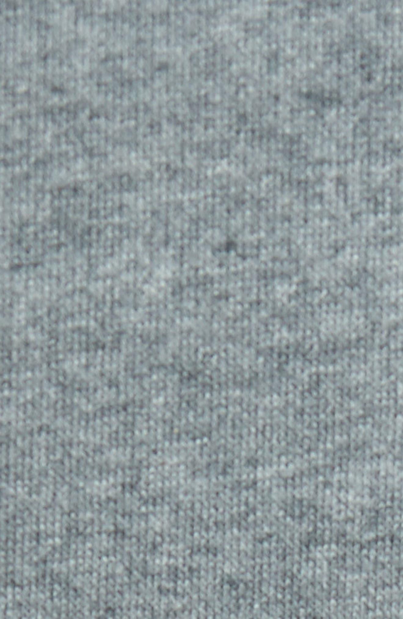 Fleece Sweatshirt,                             Alternate thumbnail 5, color,                             Grey Paloma Heather