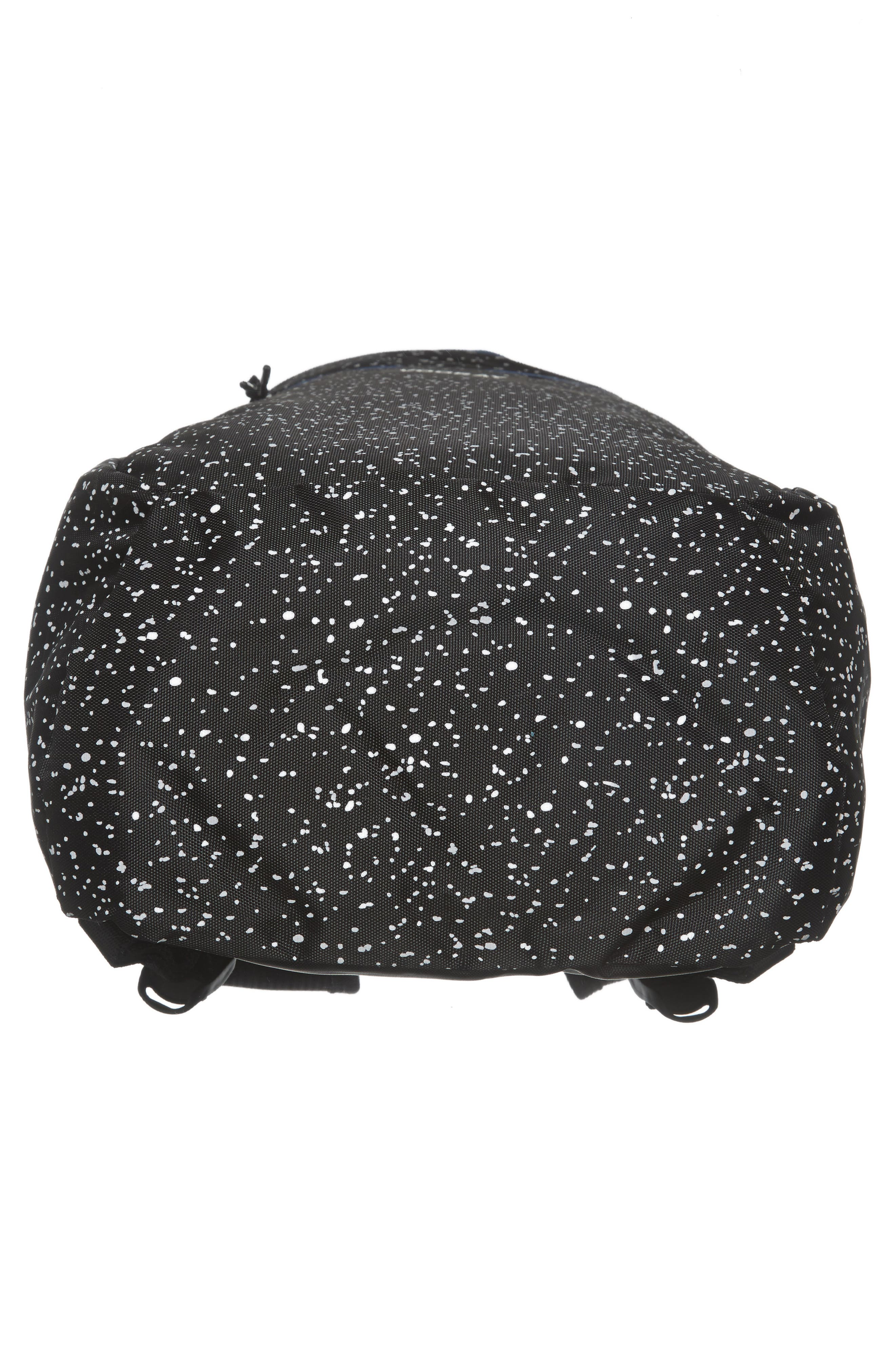 Stride Cinch Top Backpack,                             Alternate thumbnail 5, color,                             Black Speck