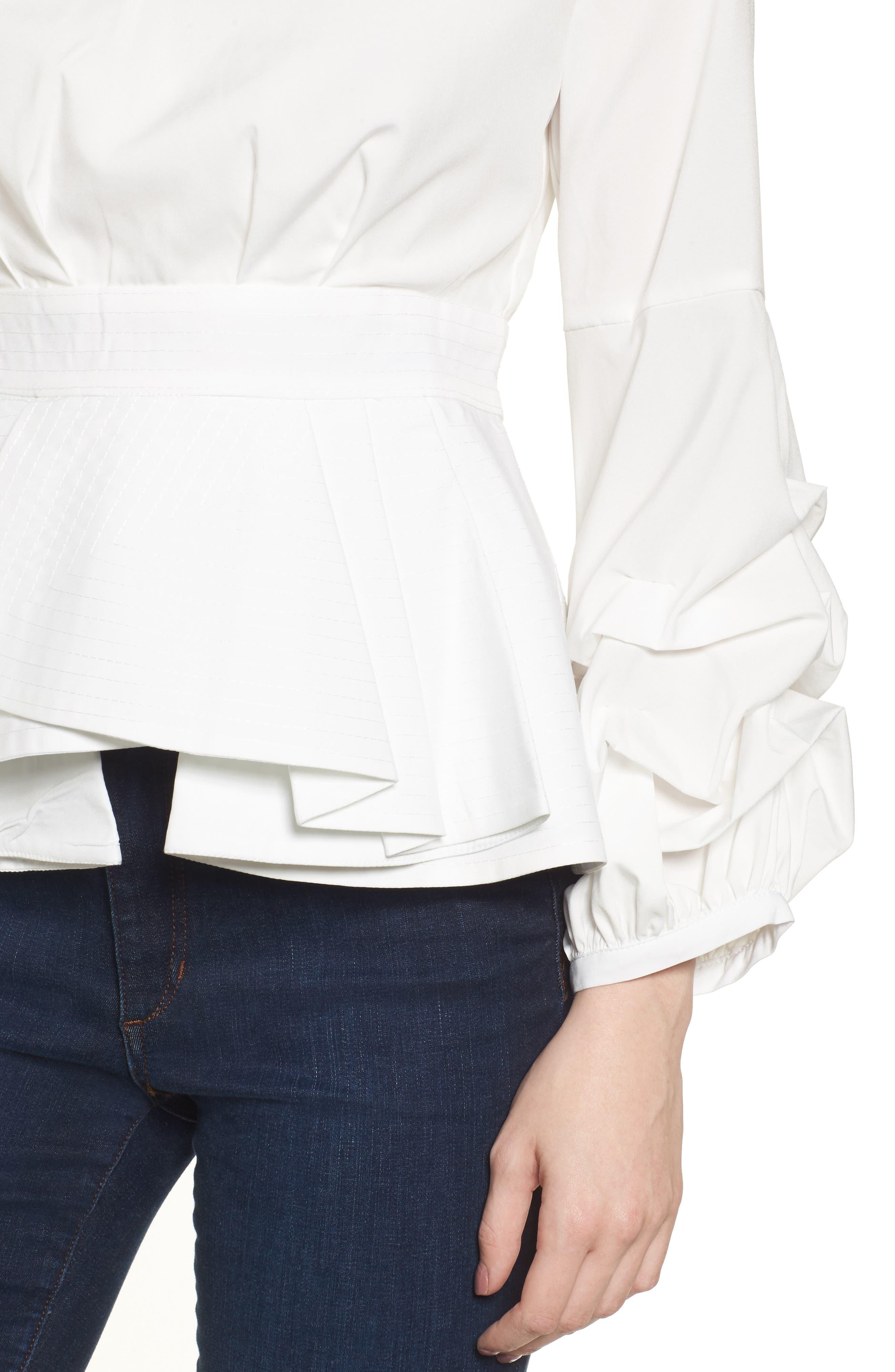 Alternate Image 4  - StyleKeepers Magnolia Blouse