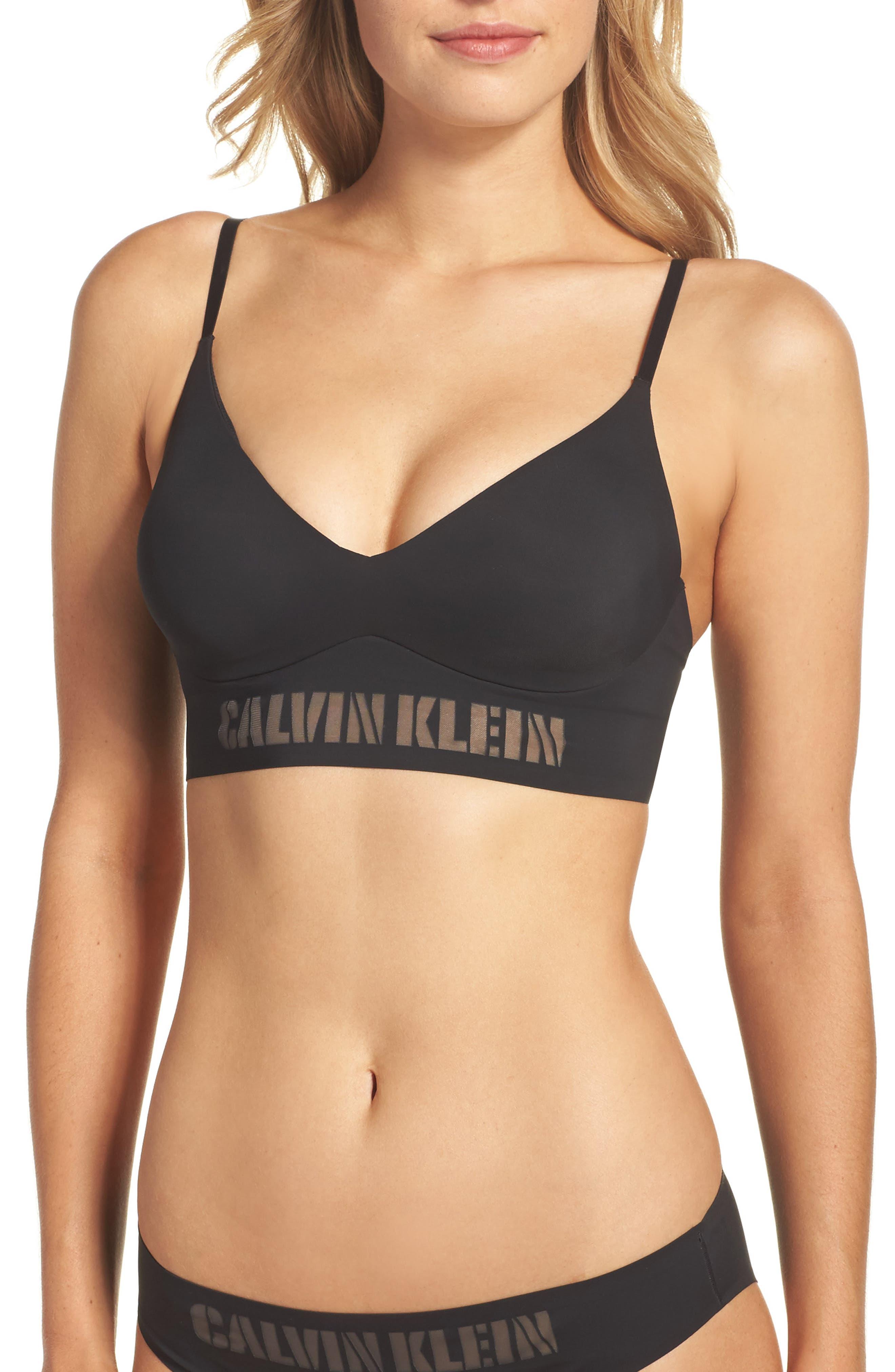 Alternate Image 1 Selected - Calvin Klein Laser Wireless Triangle Bra