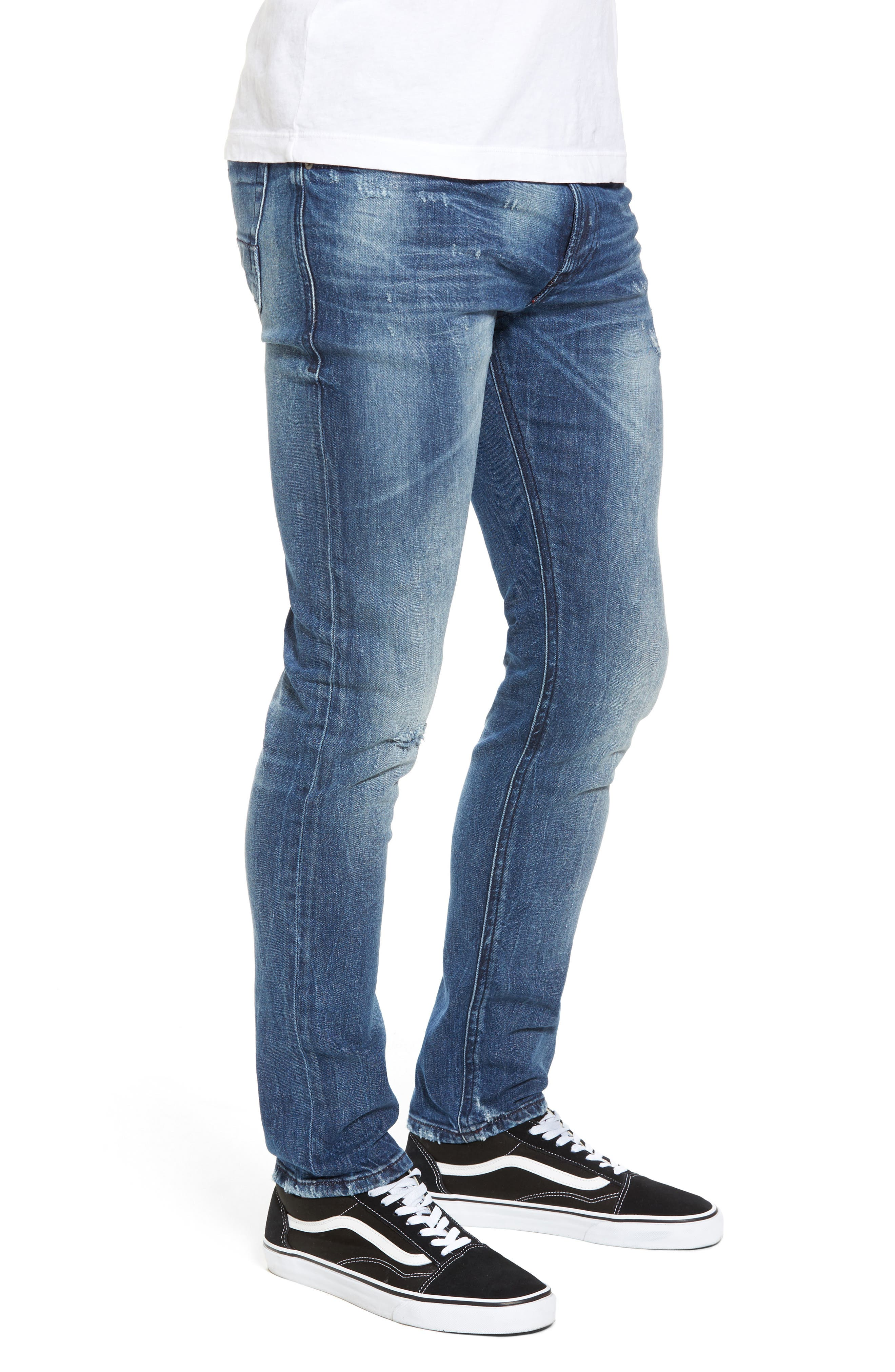 Alternate Image 3  - DIESEL® Thommer Slim Fit Jeans