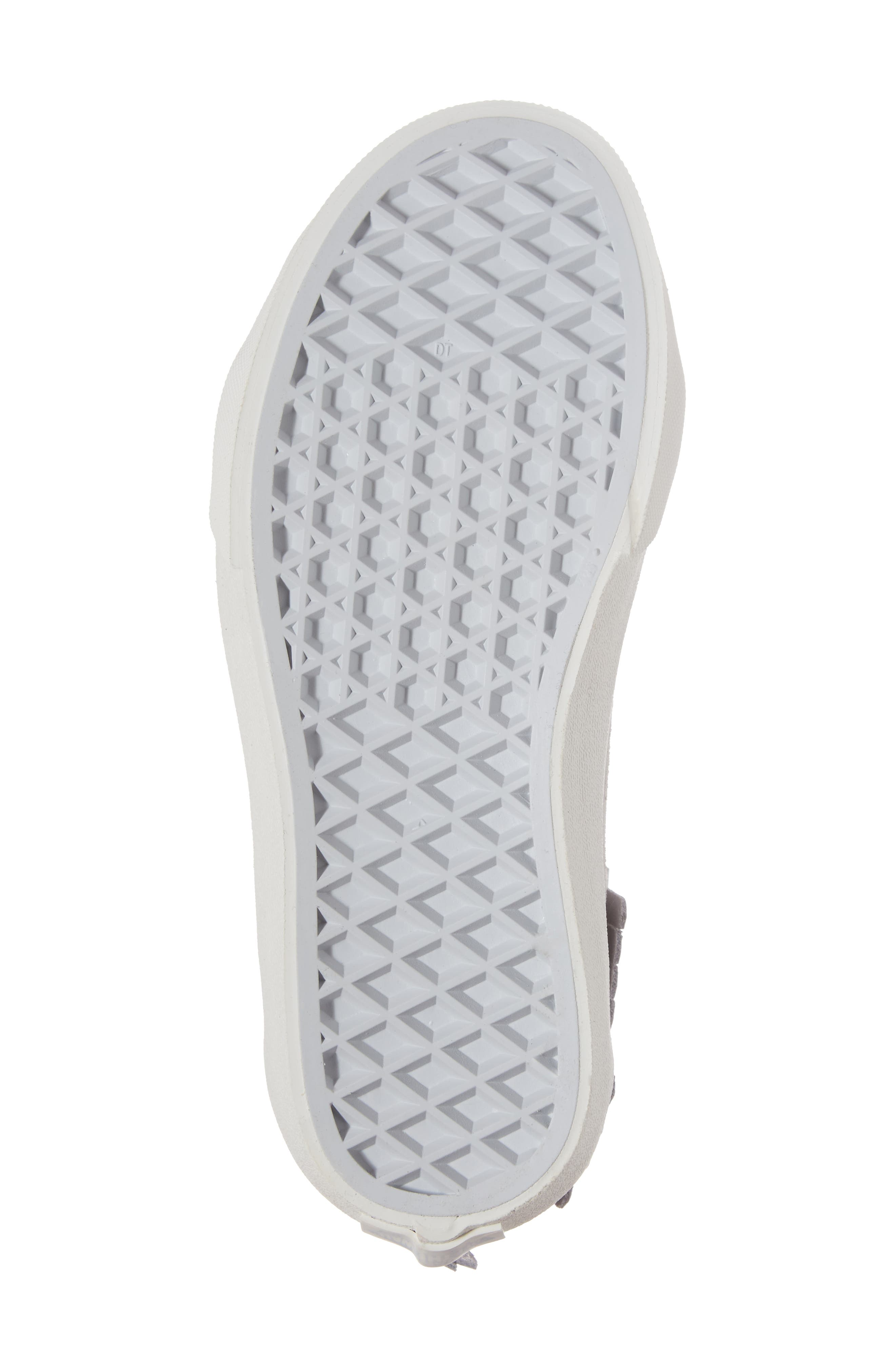 Sk8-Hi Moc Sneaker,                             Alternate thumbnail 6, color,                             Metallic Glacier Gray