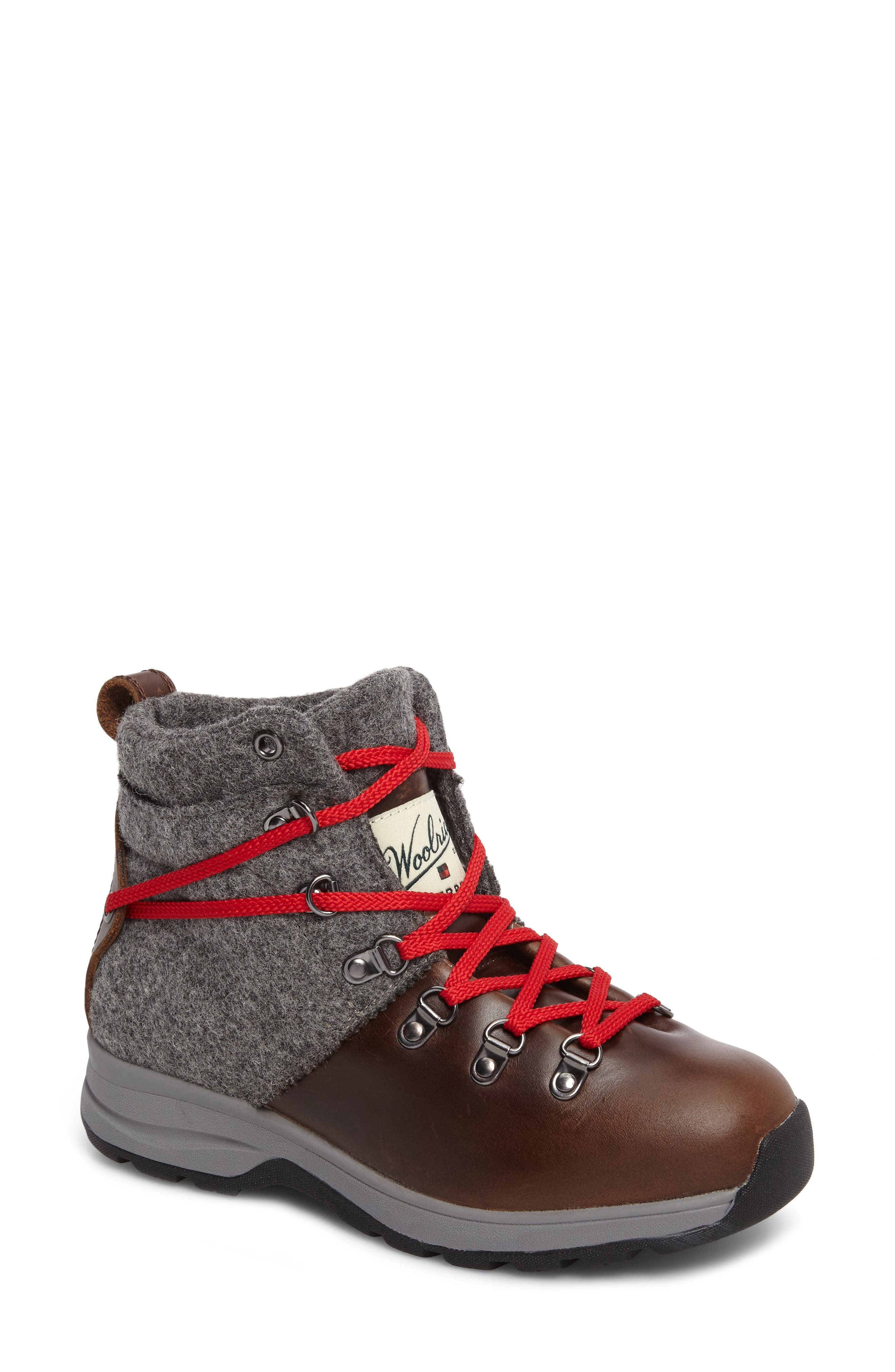 Alternate Image 1 Selected - Woolrich Rockies II Waterproof Hiking Boot (Women)