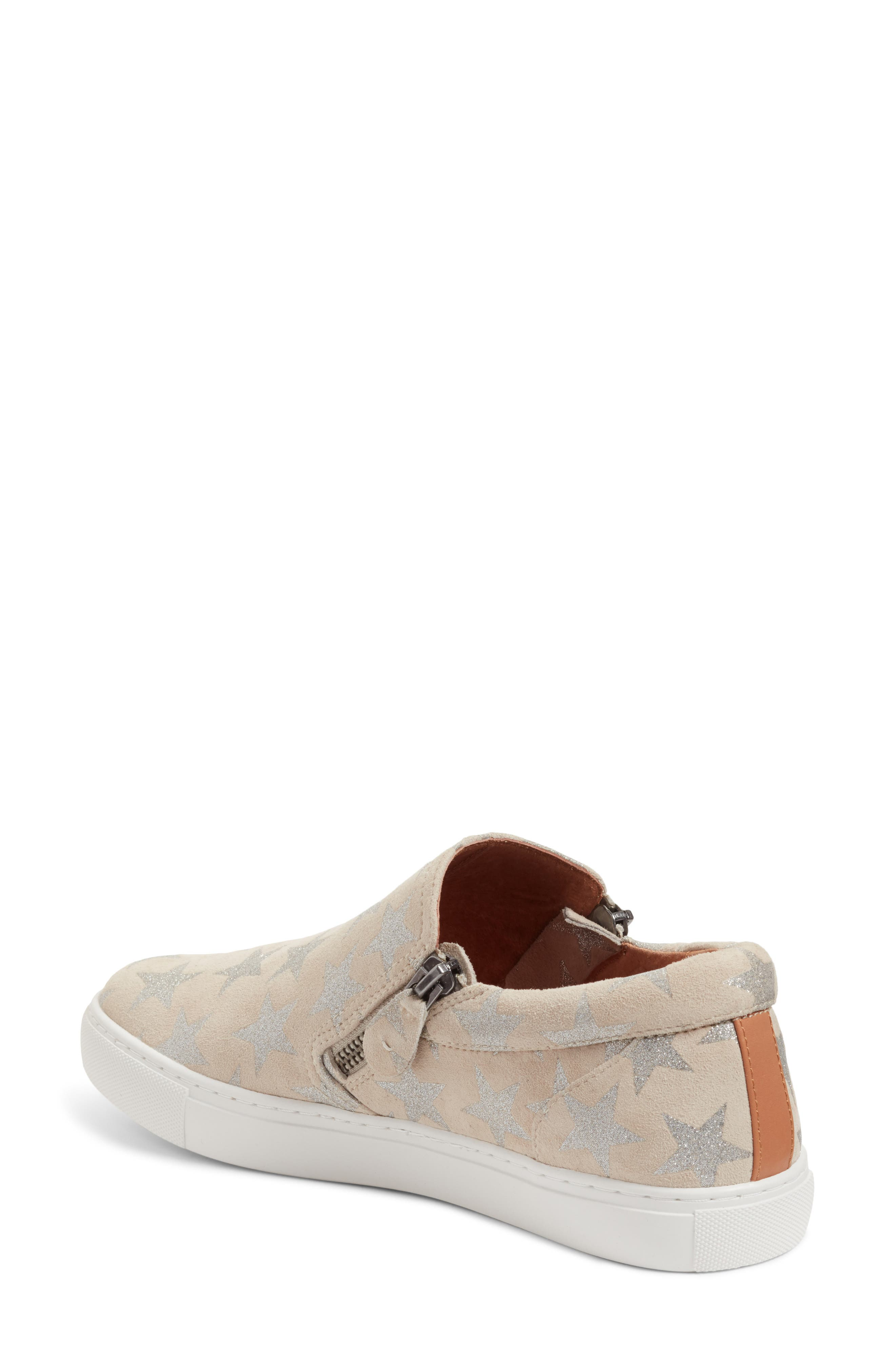 by Kenneth Cole Lowe Sneaker,                             Alternate thumbnail 4, color,                             Off White Suede