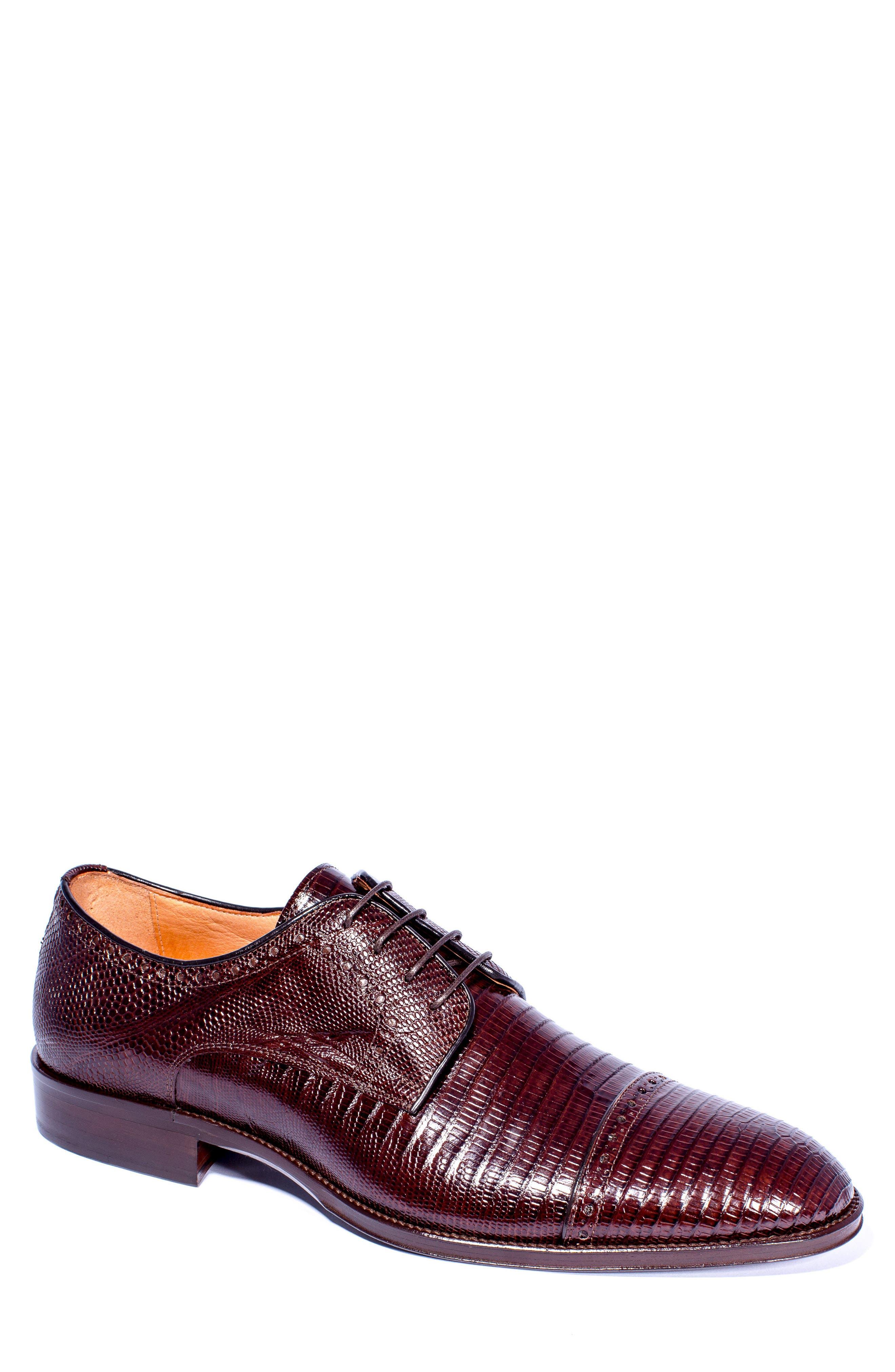 Giovanni Cap Toe Derby,                         Main,                         color, Brown