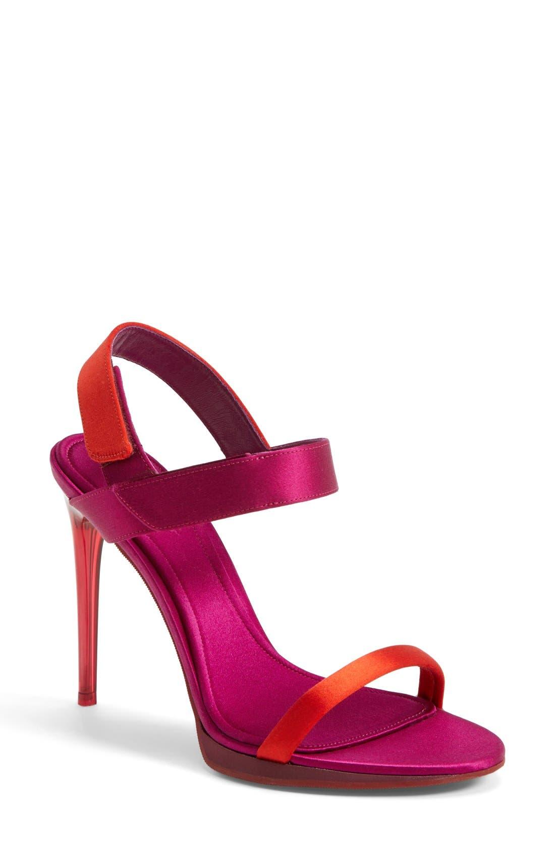 Alternate Image 1 Selected - Burberry 'Calcoat' Sandal (Women)