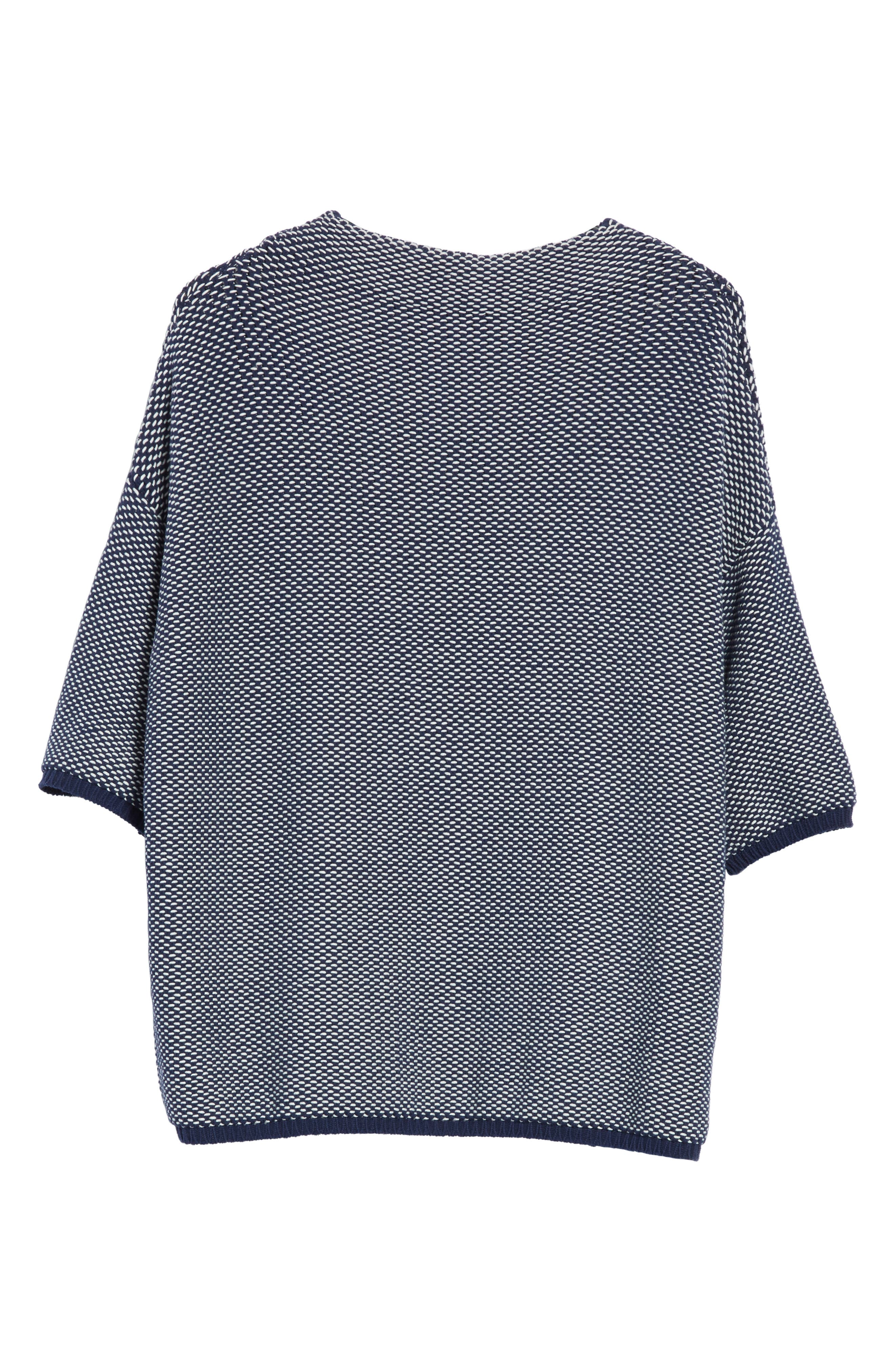Nodo Pullover,                             Alternate thumbnail 6, color,                             China Blue